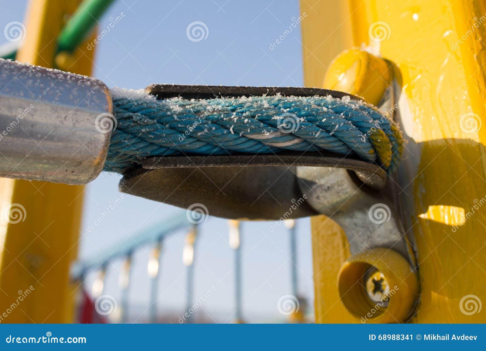 El nudo de sujetar una cuerda
