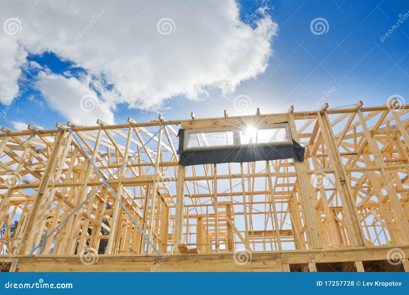 El nuevo enmarcar casero de la construcción