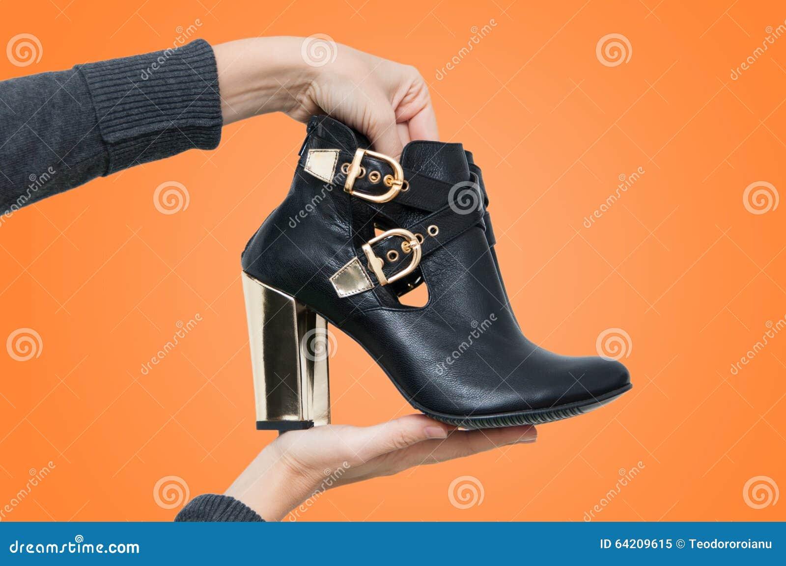 El nuevo mostrar de las botas
