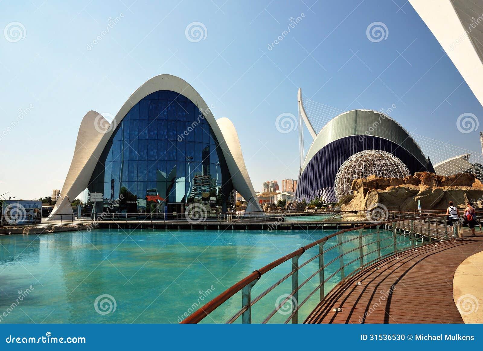 El oceanografic en valencia imagen editorial imagen de for Acuario valencia precio