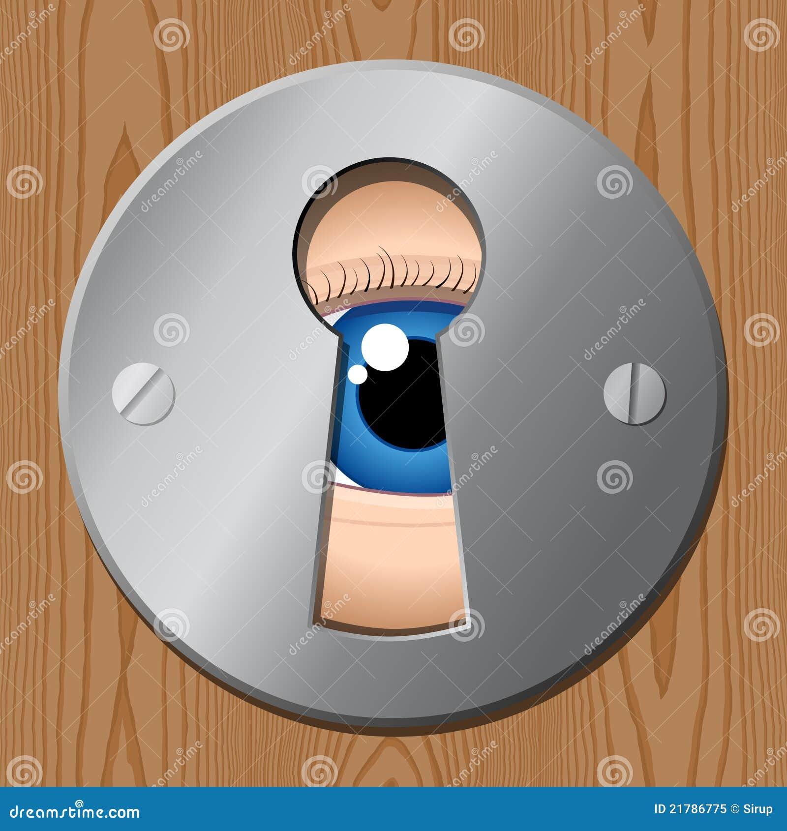 A través del ojo de la cerradura 3