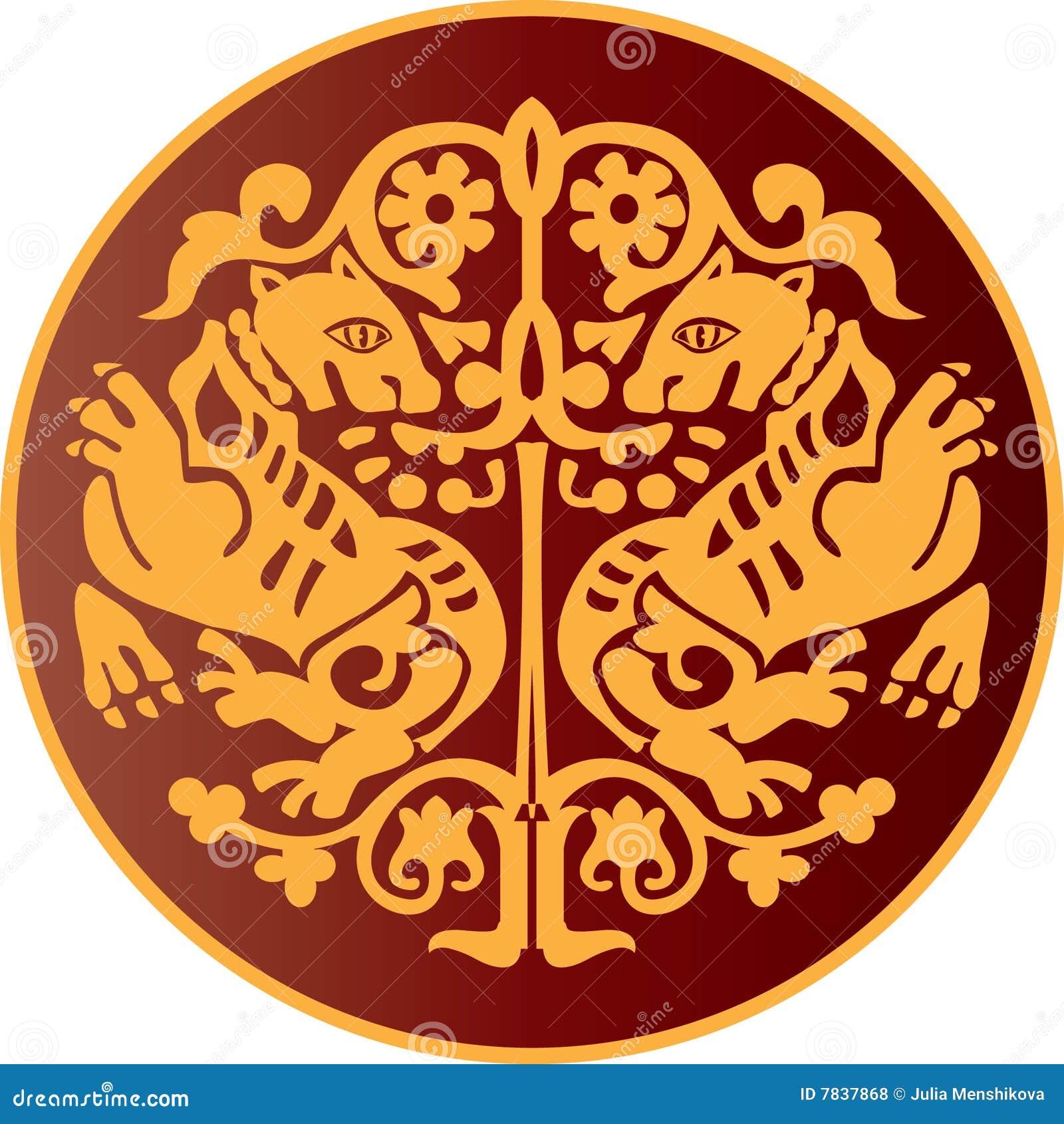 El ornamento de Byzantian