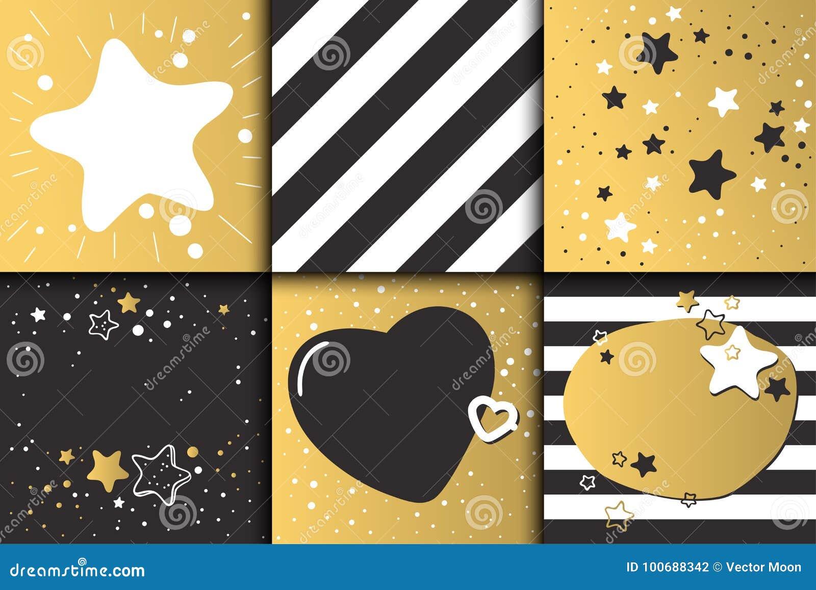 El Oro Hermoso Del Diseño De Tarjeta De La Invitación Del