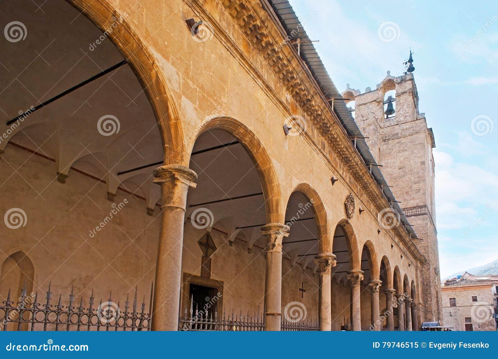 El pórtico de la catedral de Monreale