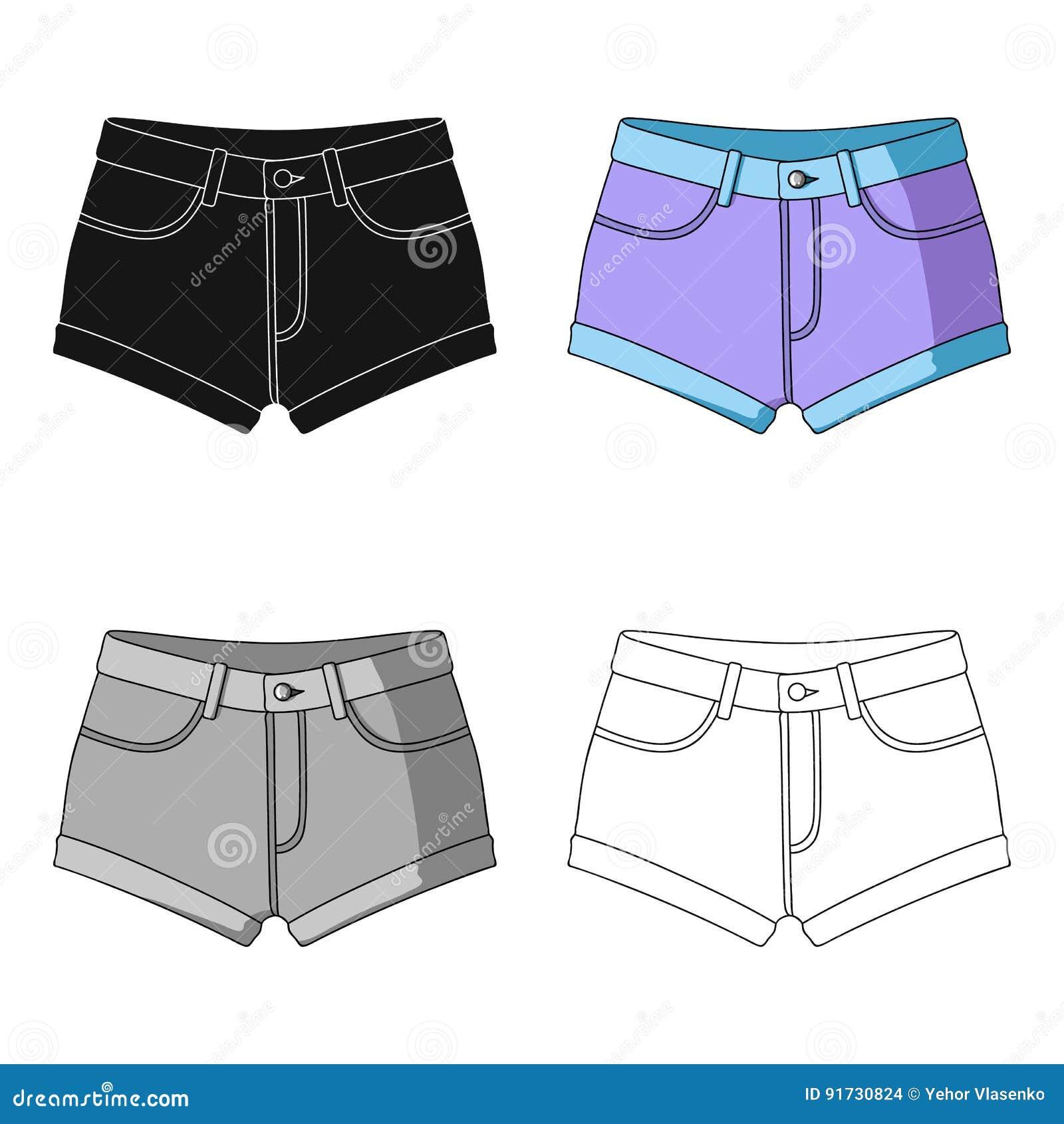 El ` púrpura corto s de las mujeres pone en cortocircuito con una goma azul Pantalones cortos para los deportes en el verano en l