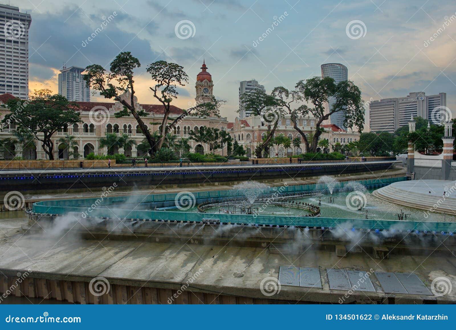 El palacio de Sultan Abdul Samad