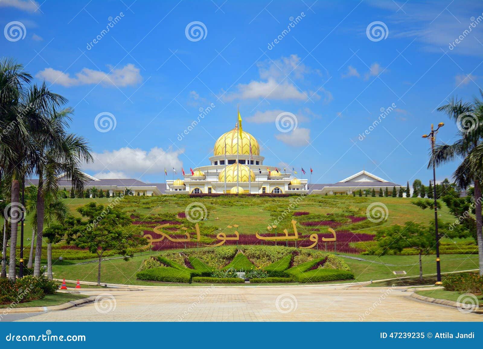 El palacio del sultán, Kuala Lumpur, Malasia