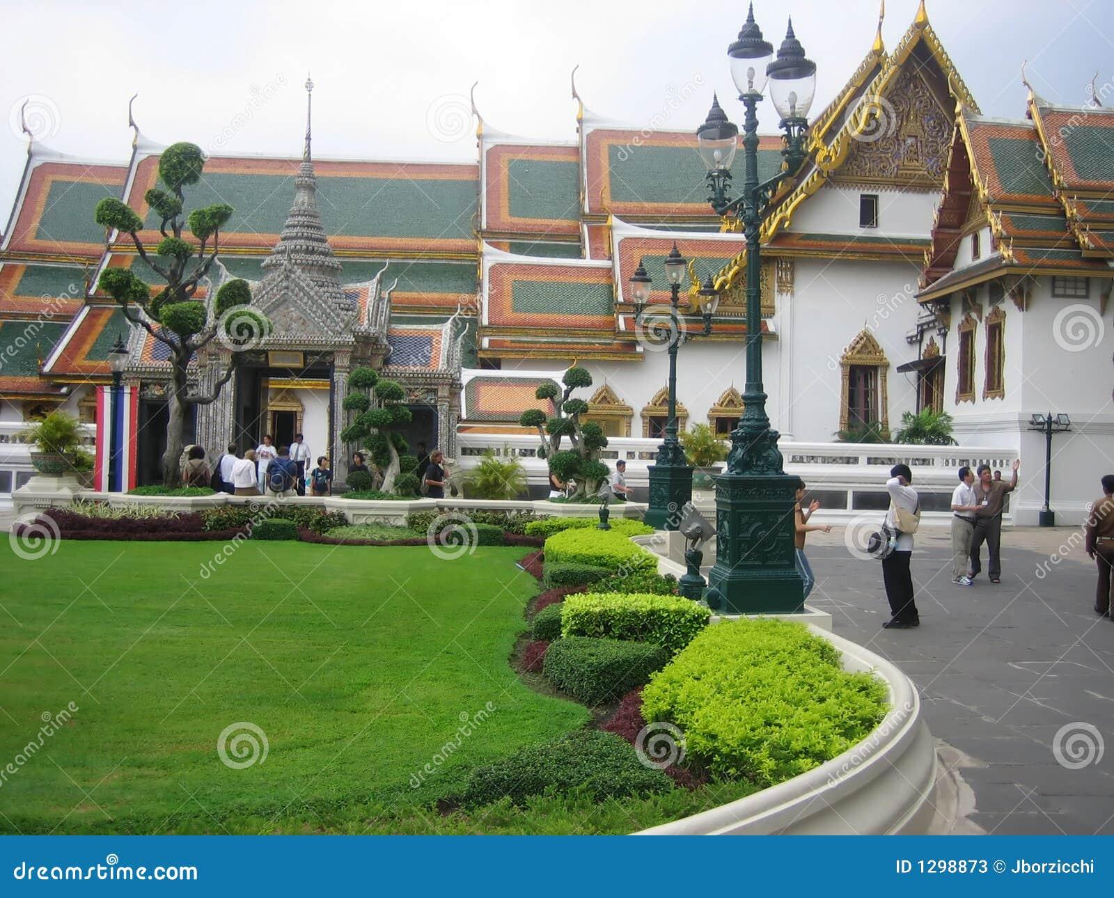 El palacio magnífico Bangkok