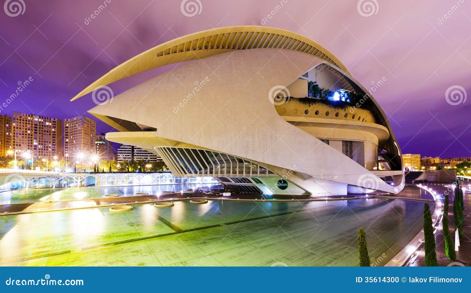El palau de les arts reina sofia in valencia editorial - Palau de les heures ...