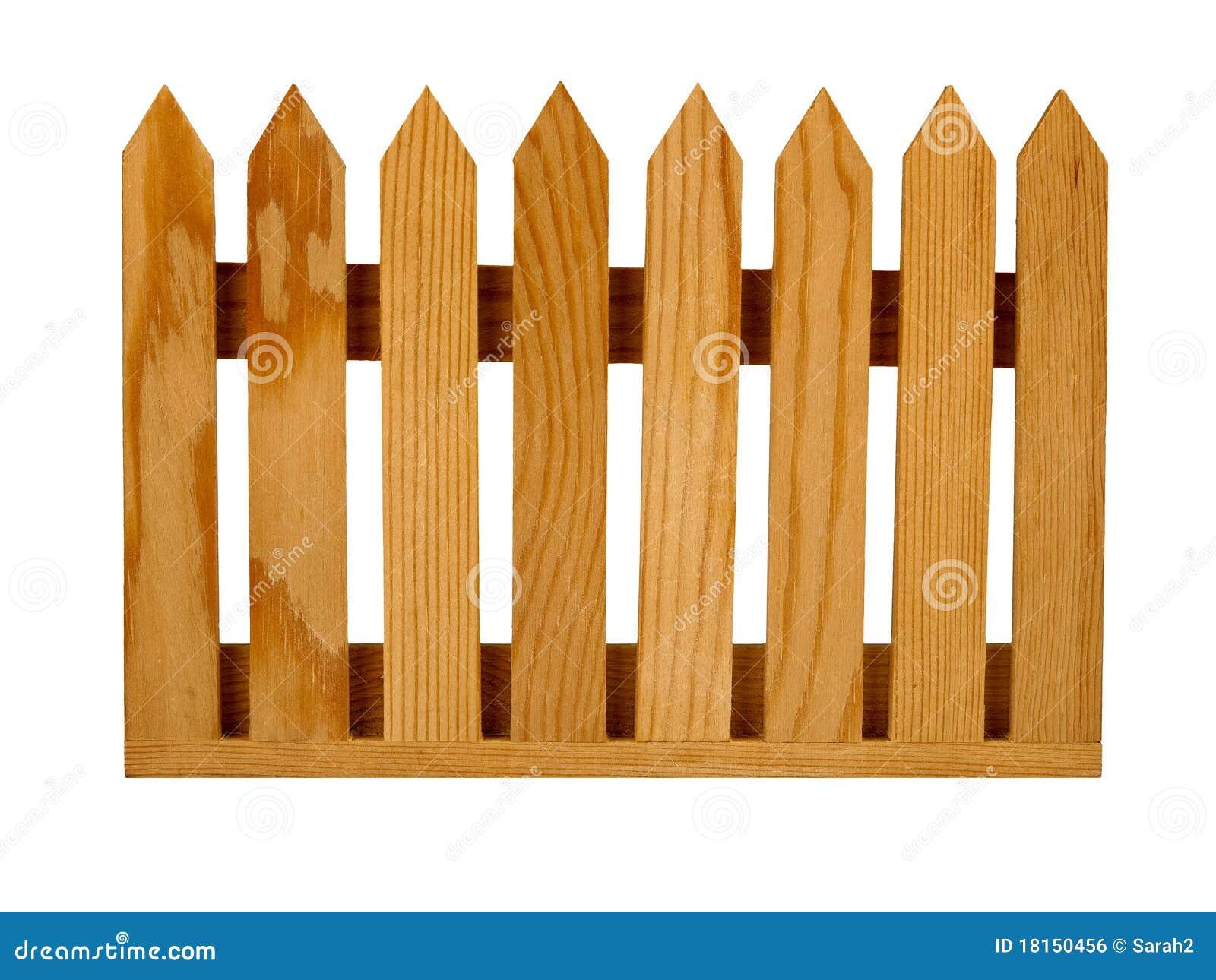 El panel de la cerca de piquete del jard n aislado imagen - Cercas de jardin ...