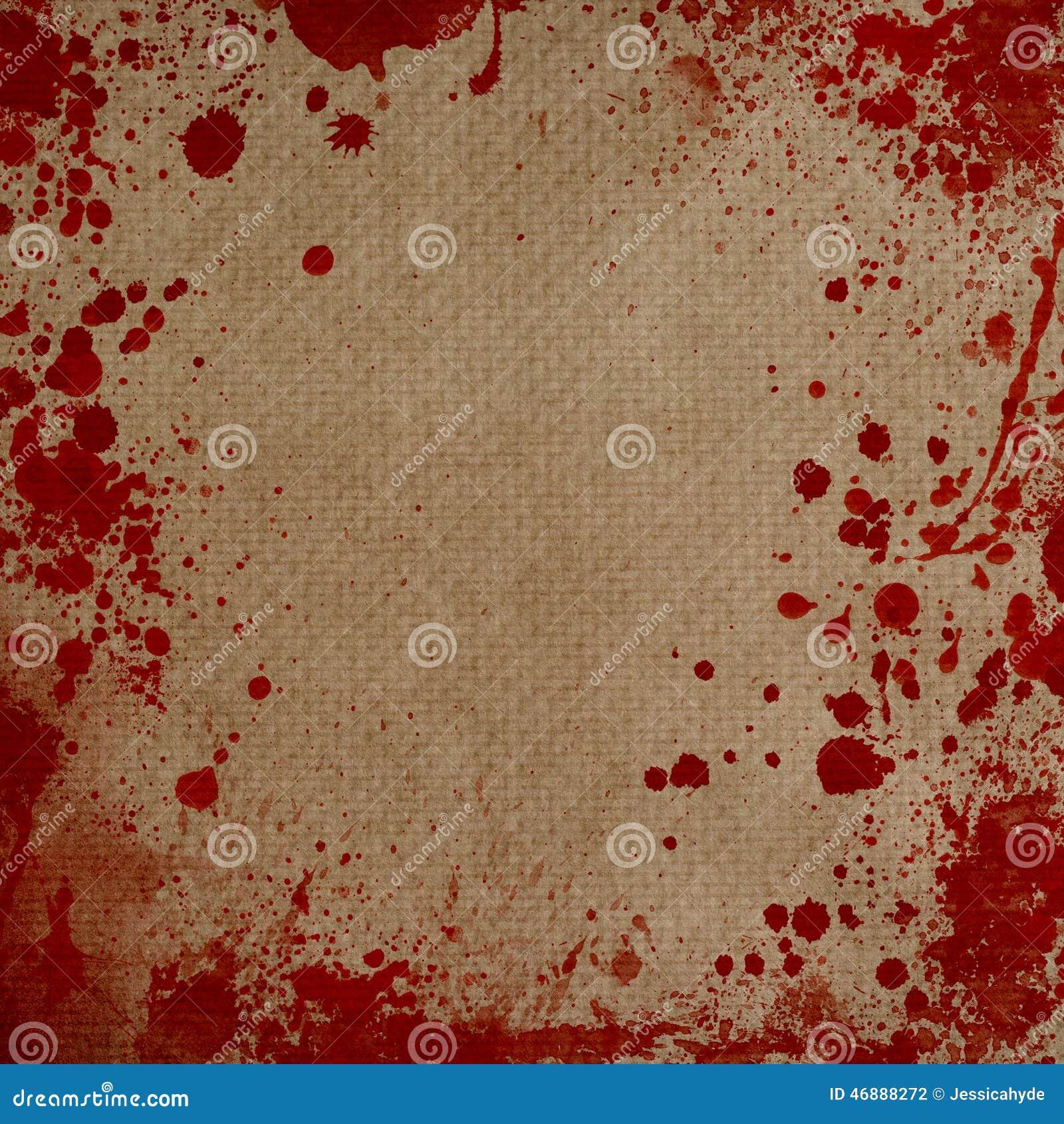 Marco de la sangre ilustración del vector. Ilustración de frontera ...