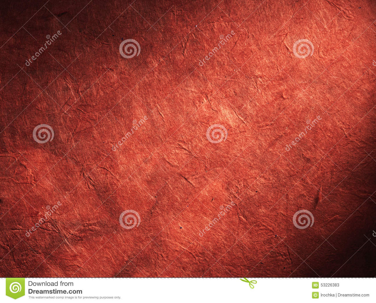 El papel rojo viejo