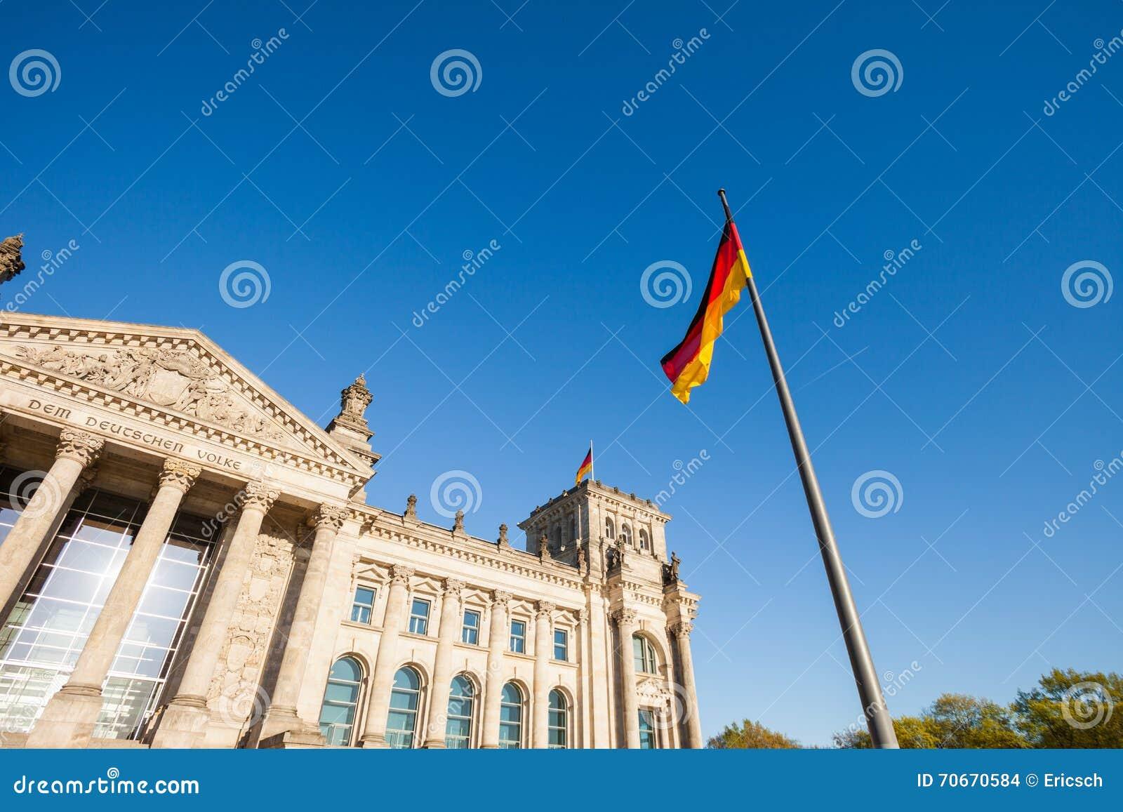 El parlamento federal alemán (Reichstag)