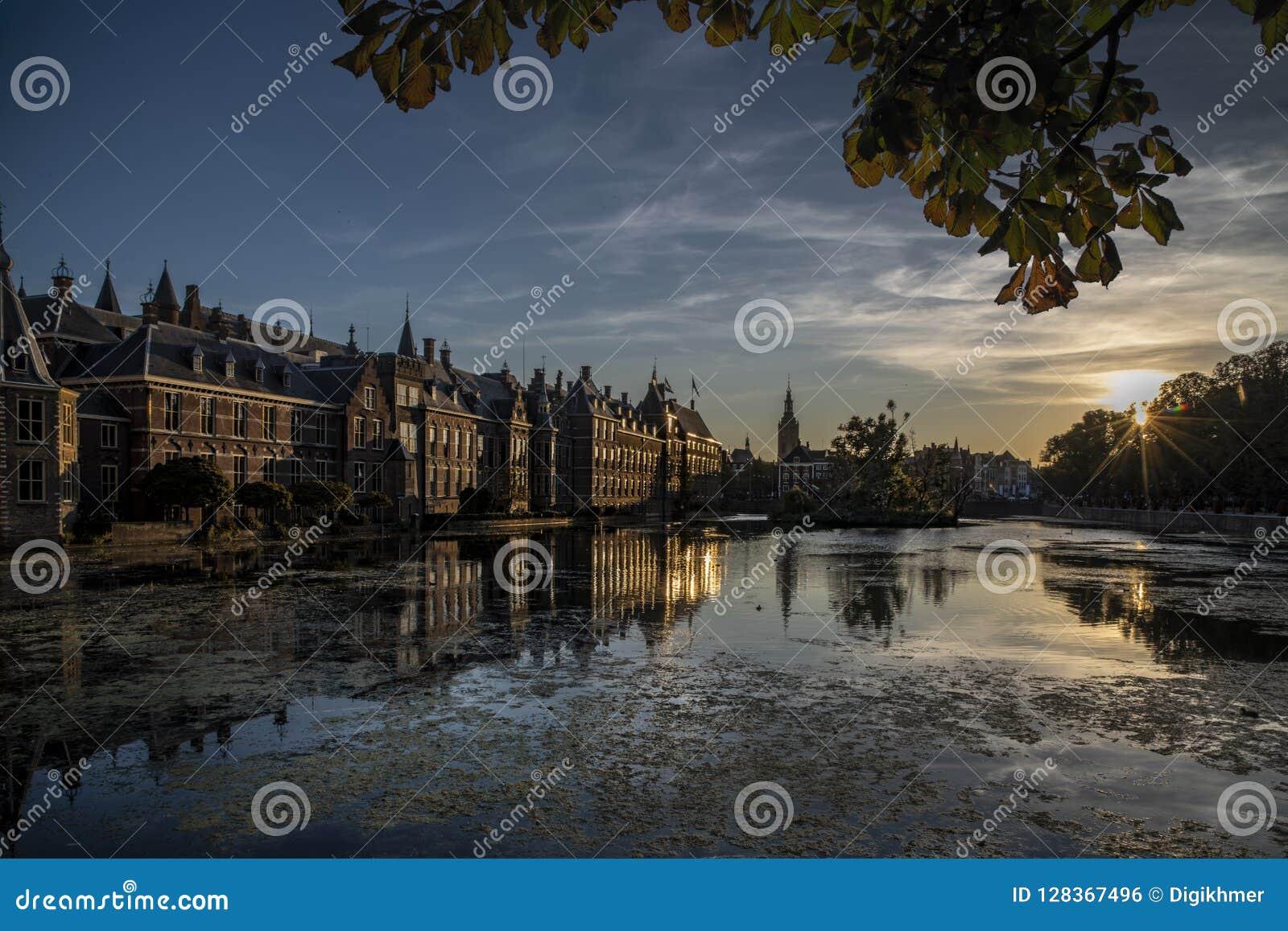 El parlamento holandés, La Haya, Países Bajos