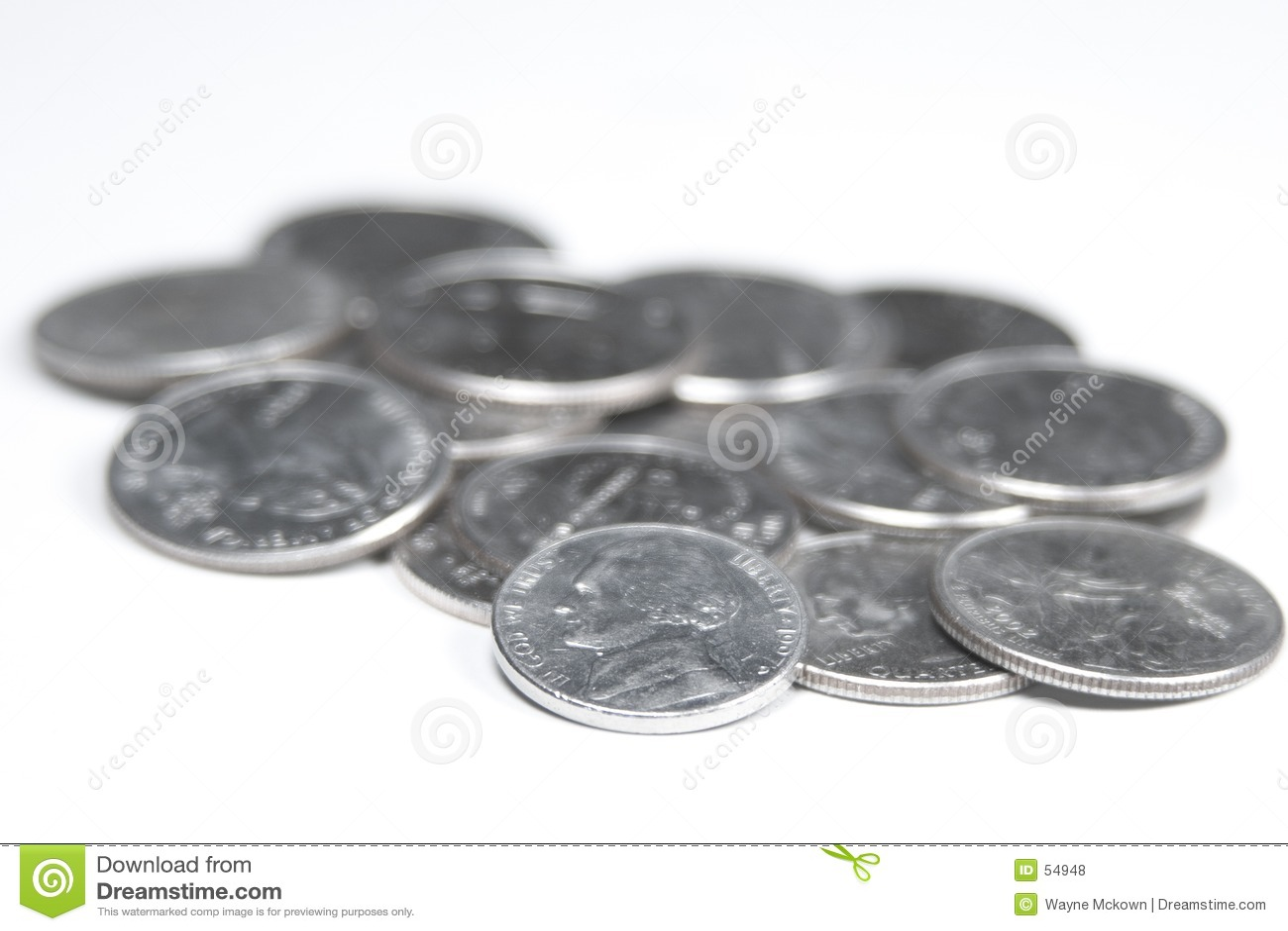El pedazo de cinco centavos