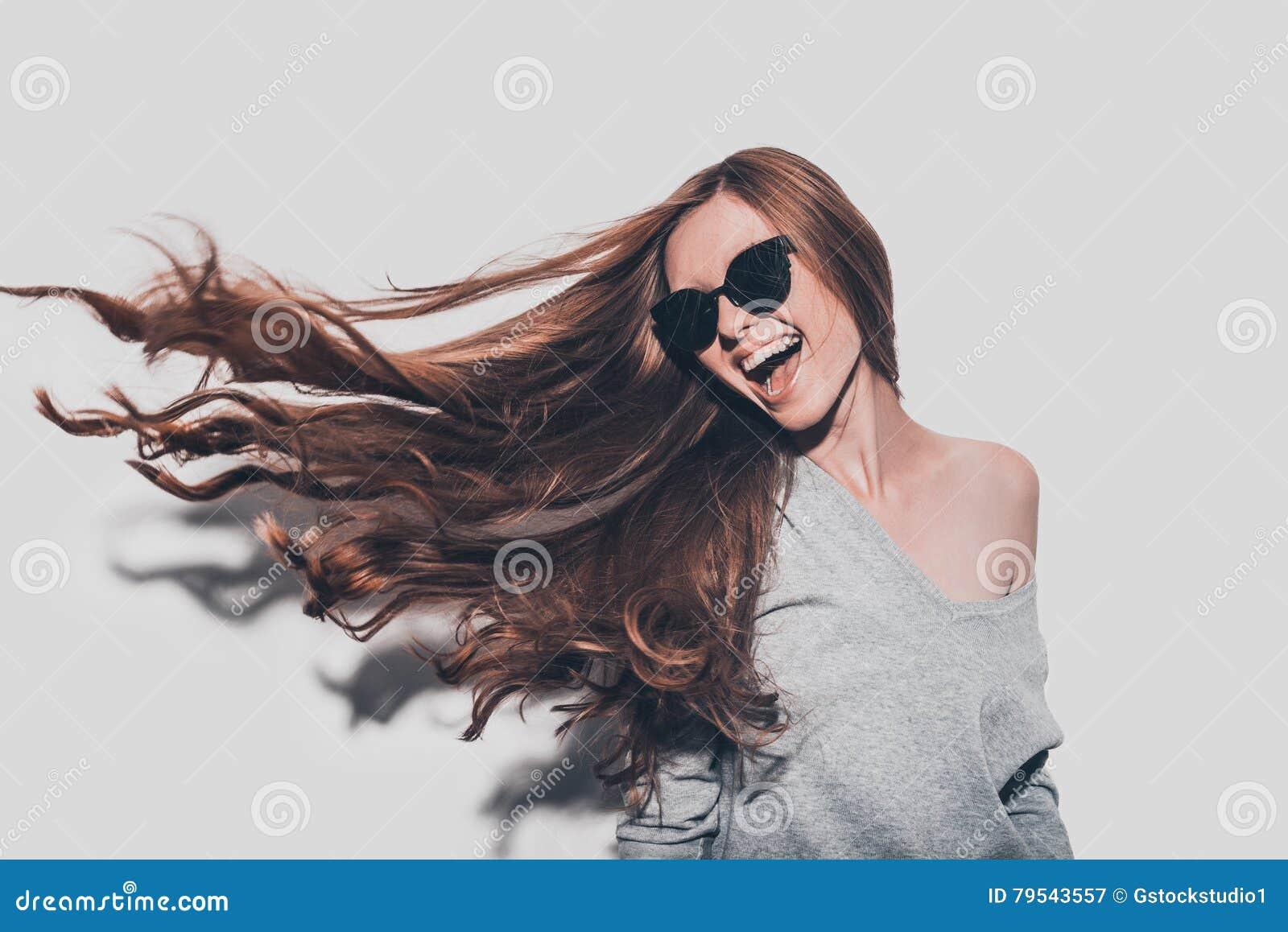 El pelo le gusta el fuego