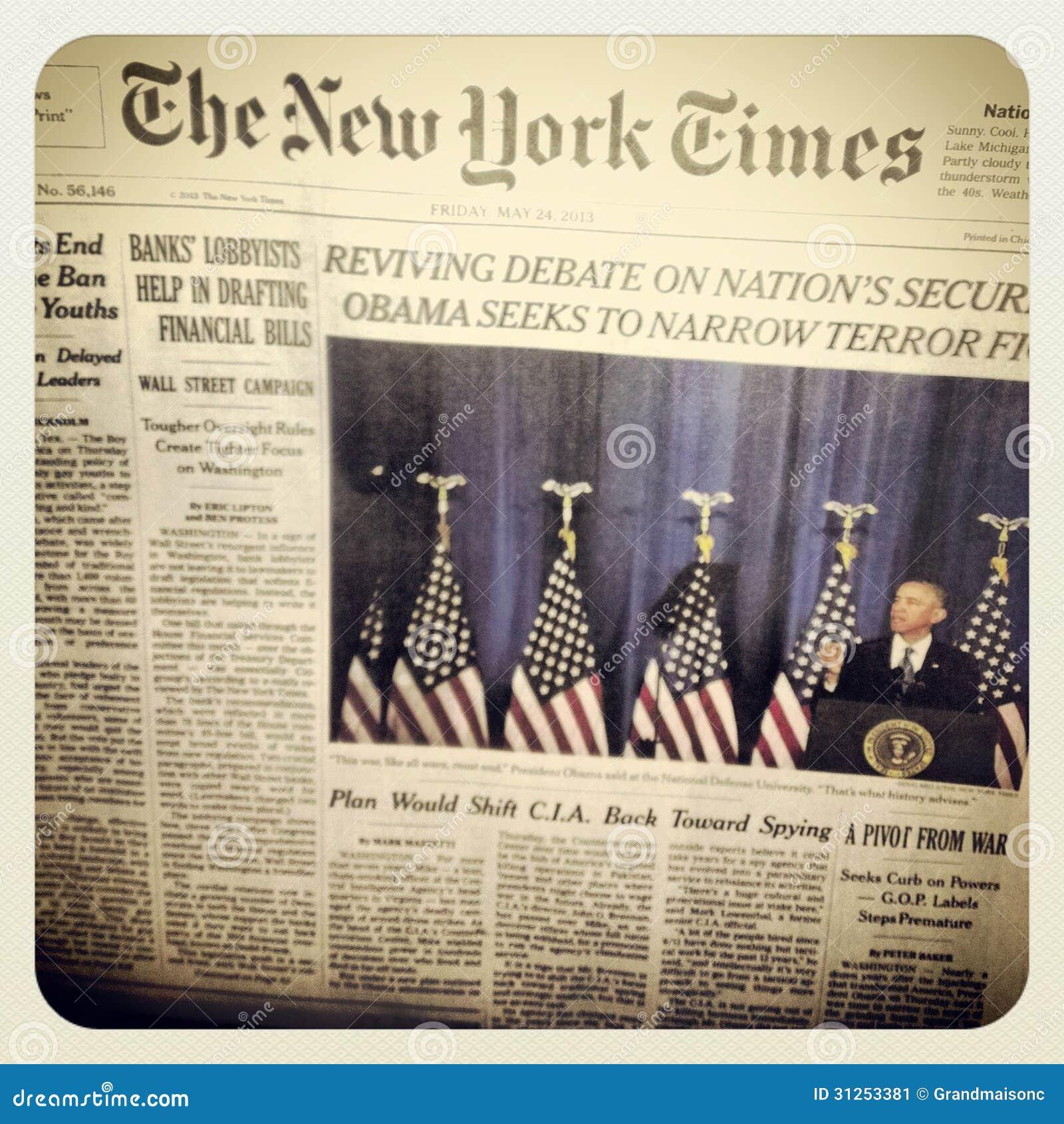 El periódico de New York Times