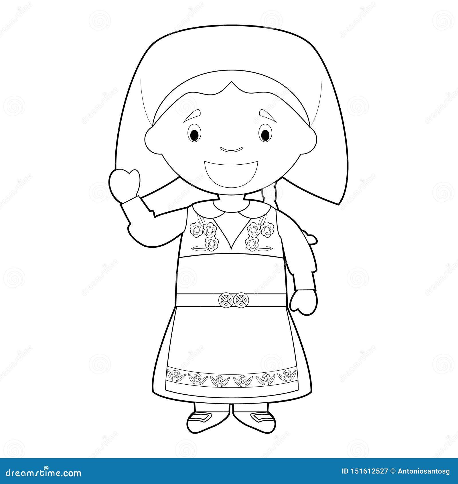 El Personaje De Dibujos Animados Que Coloreaba Facil De Suecia Se