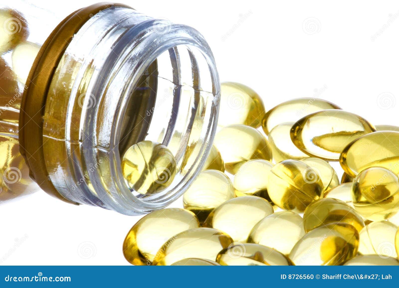 El petróleo de hígado de bacalao encapsula la macro aislada