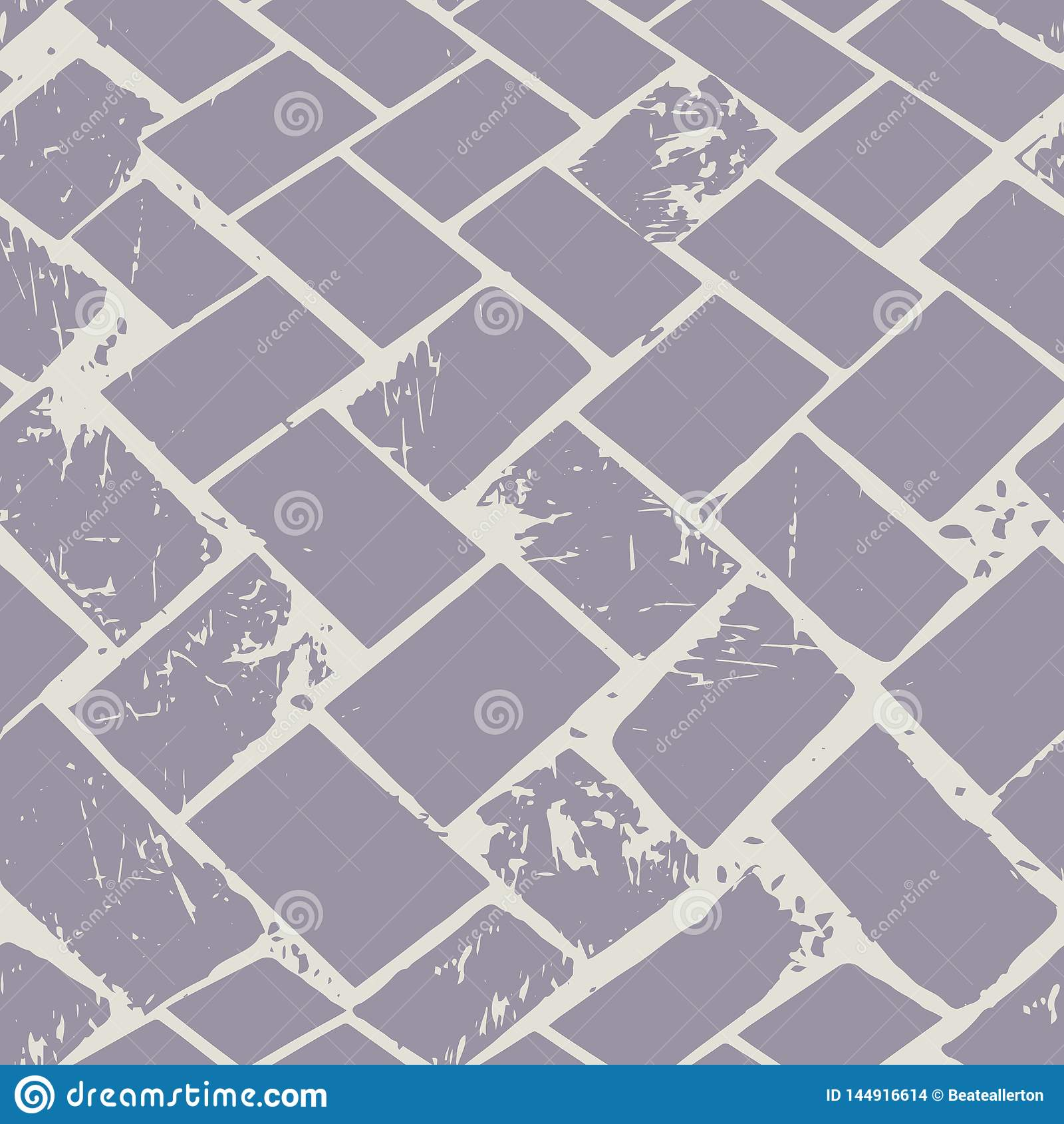 El piso abstracto del terrazo teje la textura de piedra del grunge en colores pastel Modelo inconsútil del vector en fondo gris