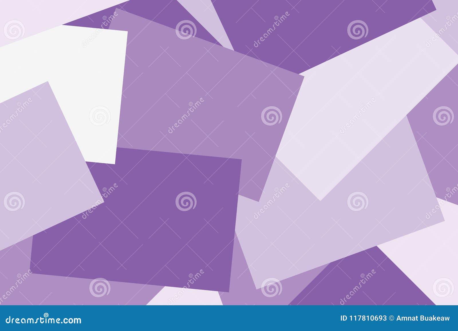 El plano geométrico colorido en colores pastel púrpura de papel abstracto pone el fondo del estilo, nota de papel que muchas capa