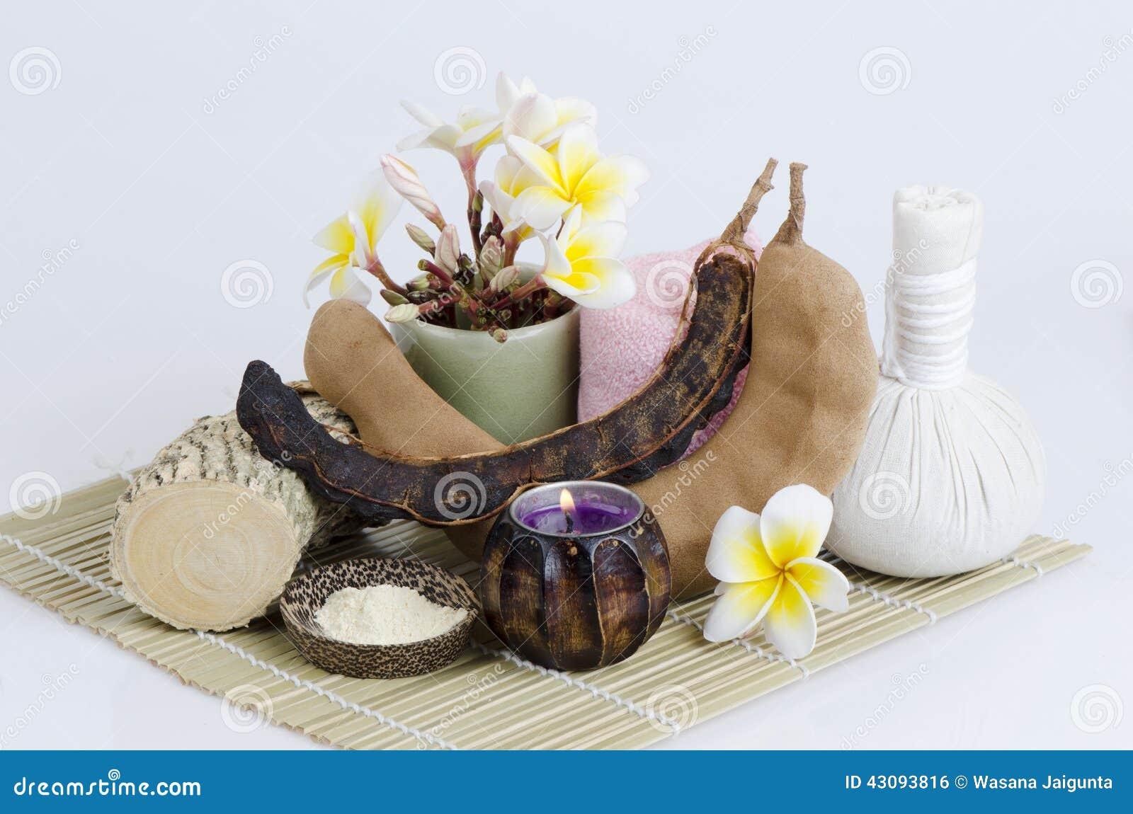 El polvo y el tamarindo de Thanakha para que quieren traten acné en la cara Controla poros estorbados Reduce