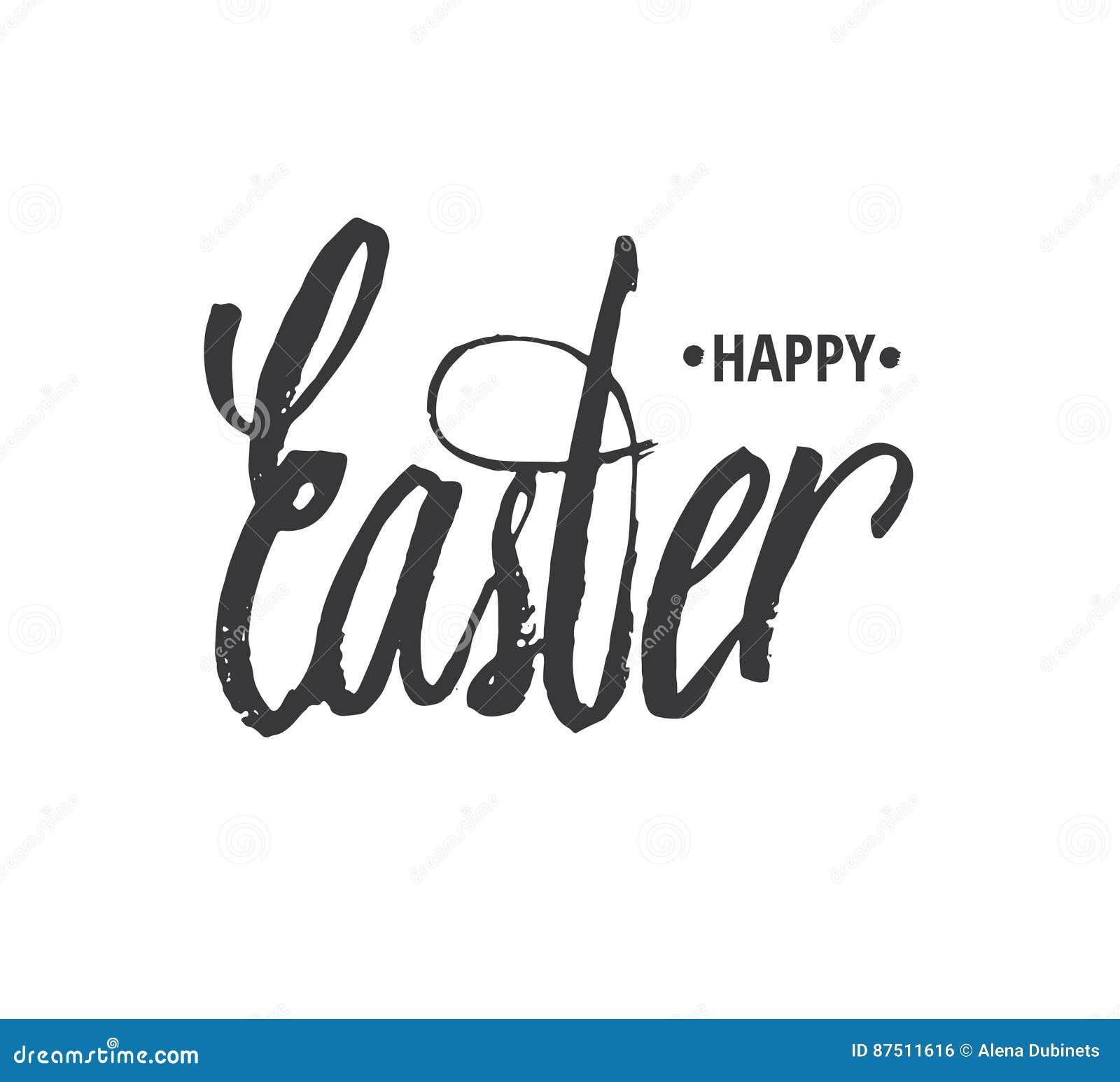 Dé Las Letras Escritas De Pascua Para Las Plantillas Del Texto De La ...