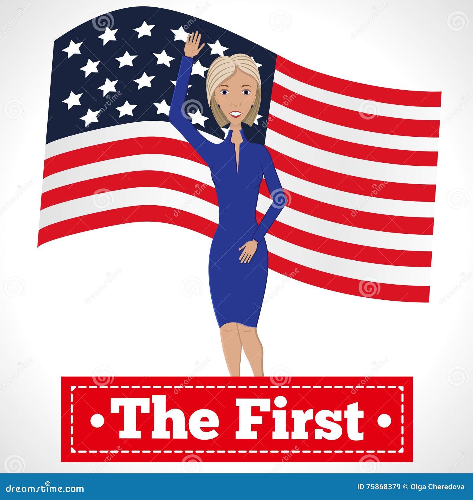 El primer presidente de la mujer