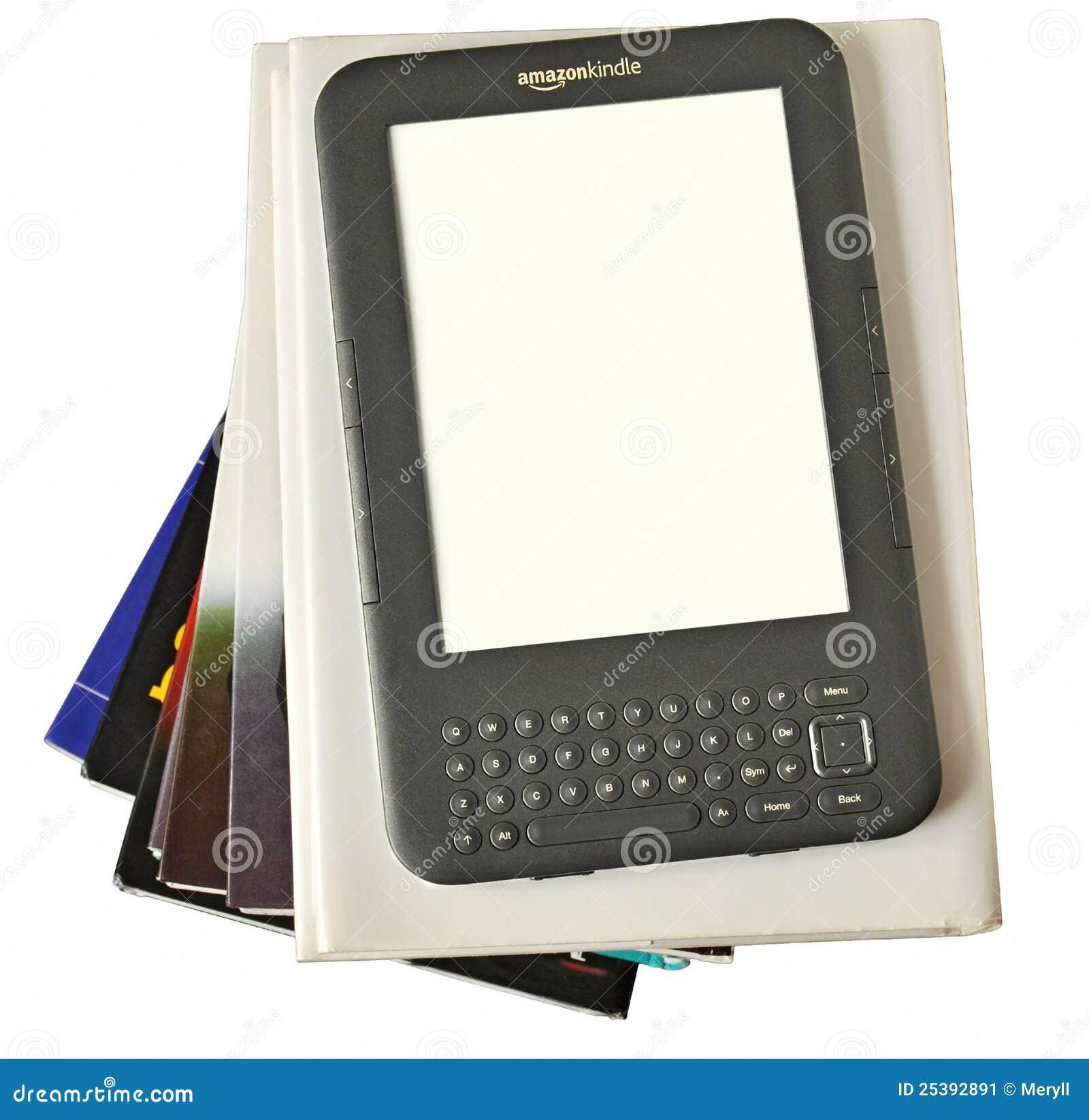 El programa de lectura digital el Amazonas de Ebook enciende