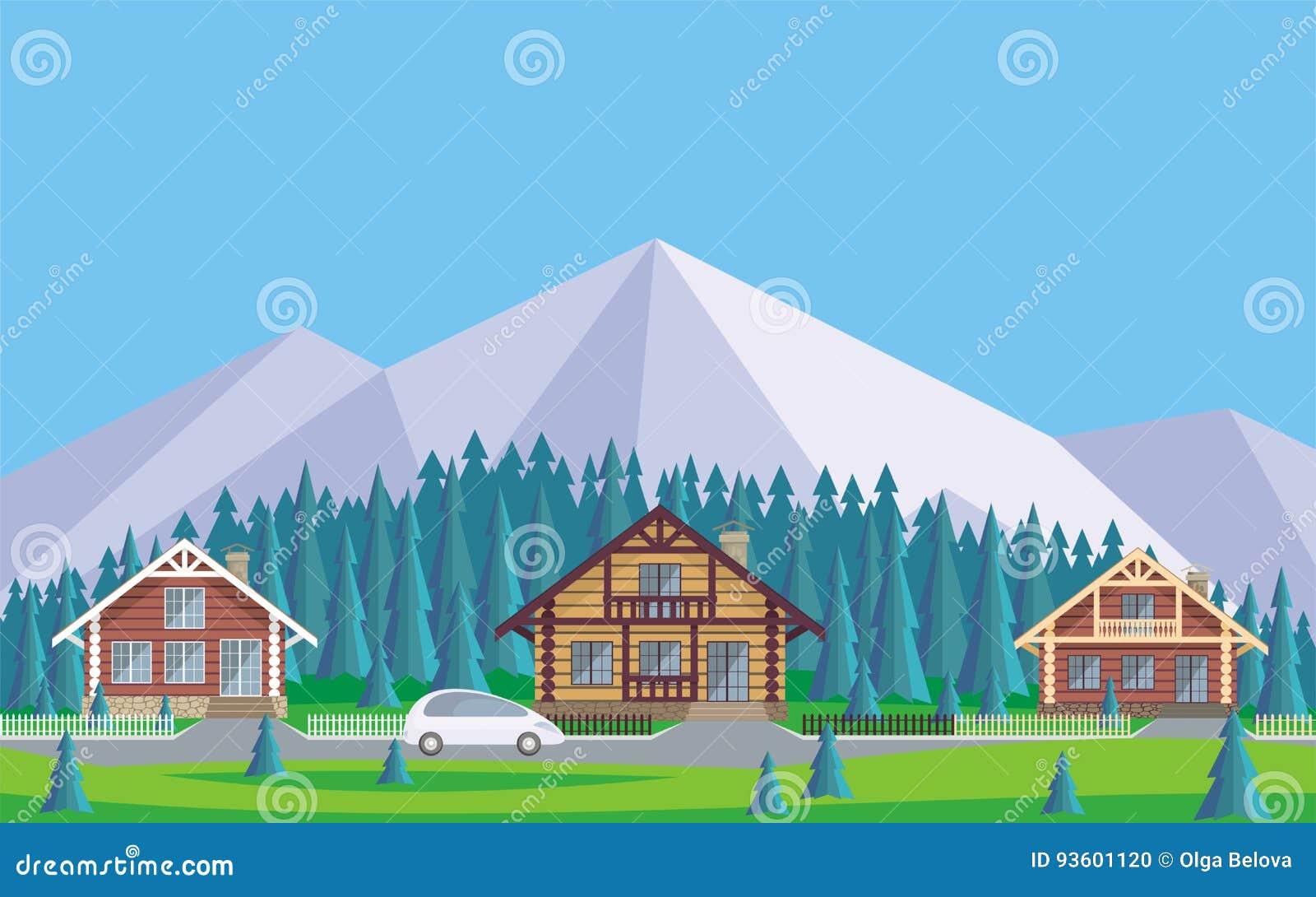 El pueblo de la cabaña