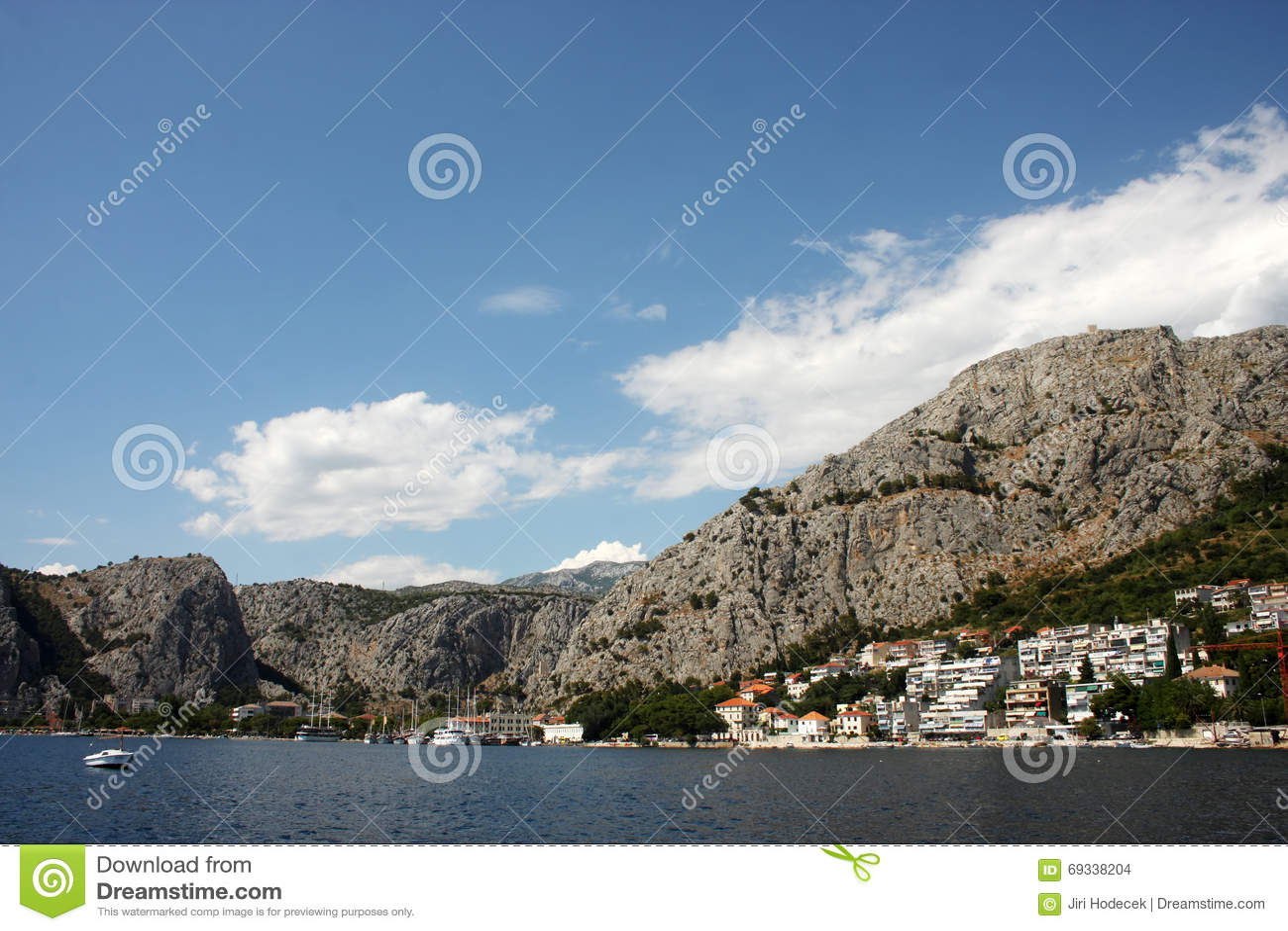 El pueblo en Croacia