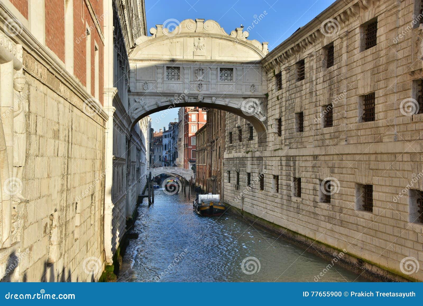 El puente de suspiros, Venecia