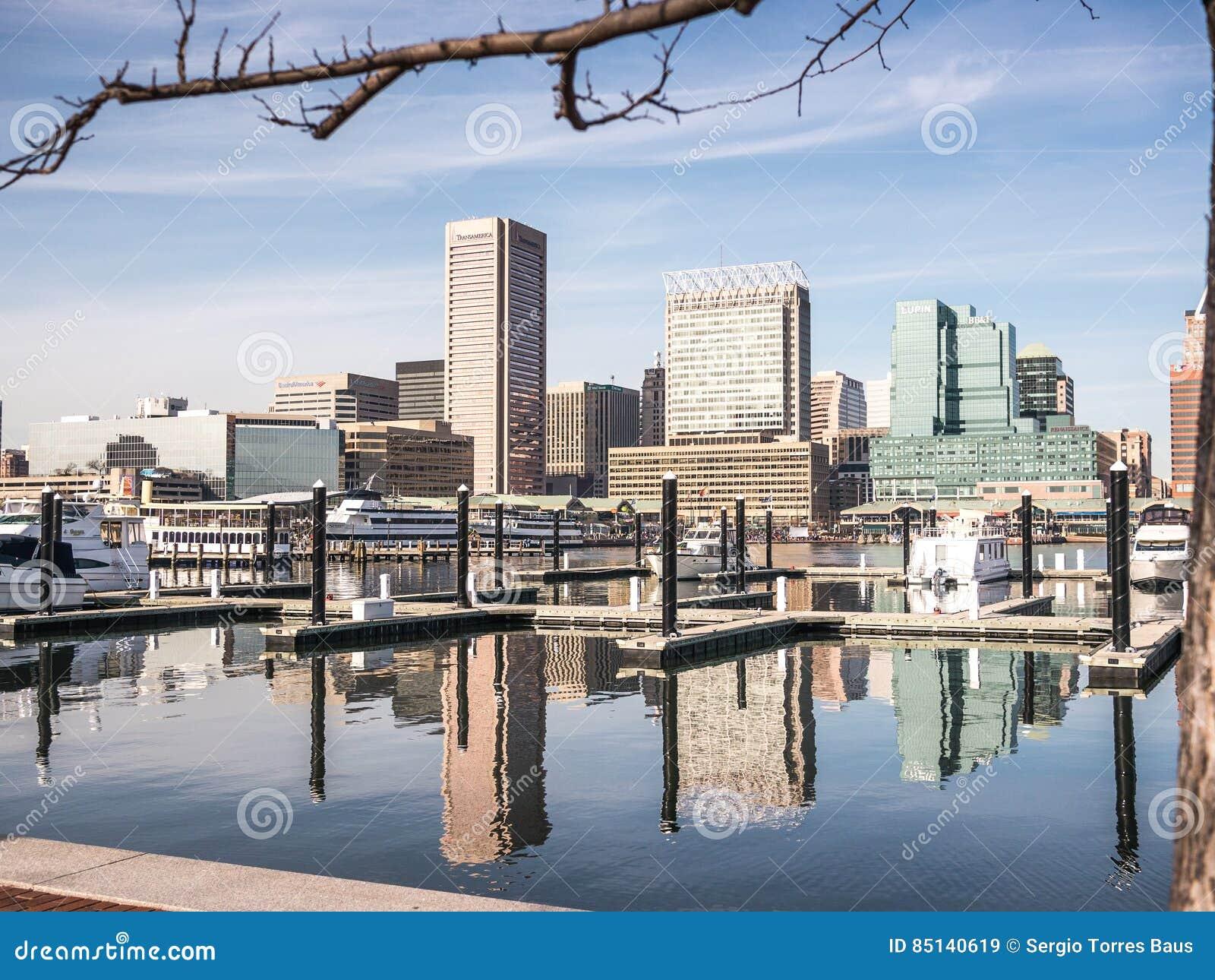 El puerto de Baltimore