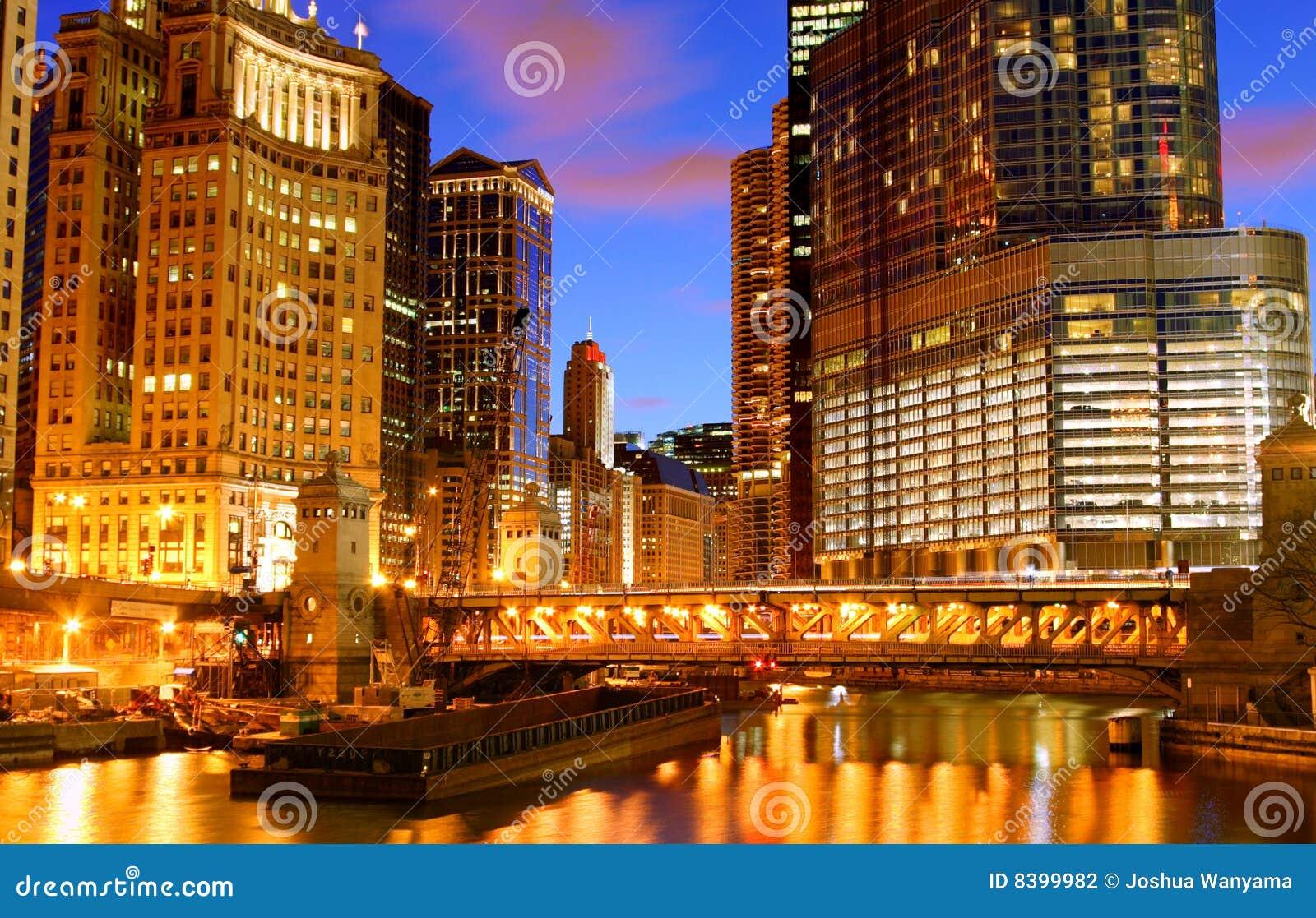 El río Chicago