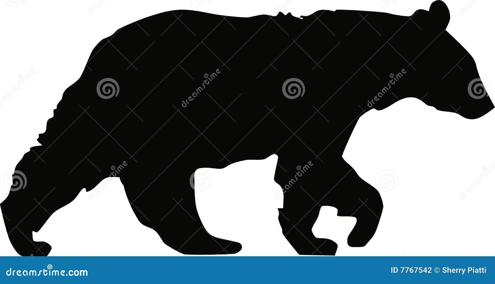 El recorrer del oso negro