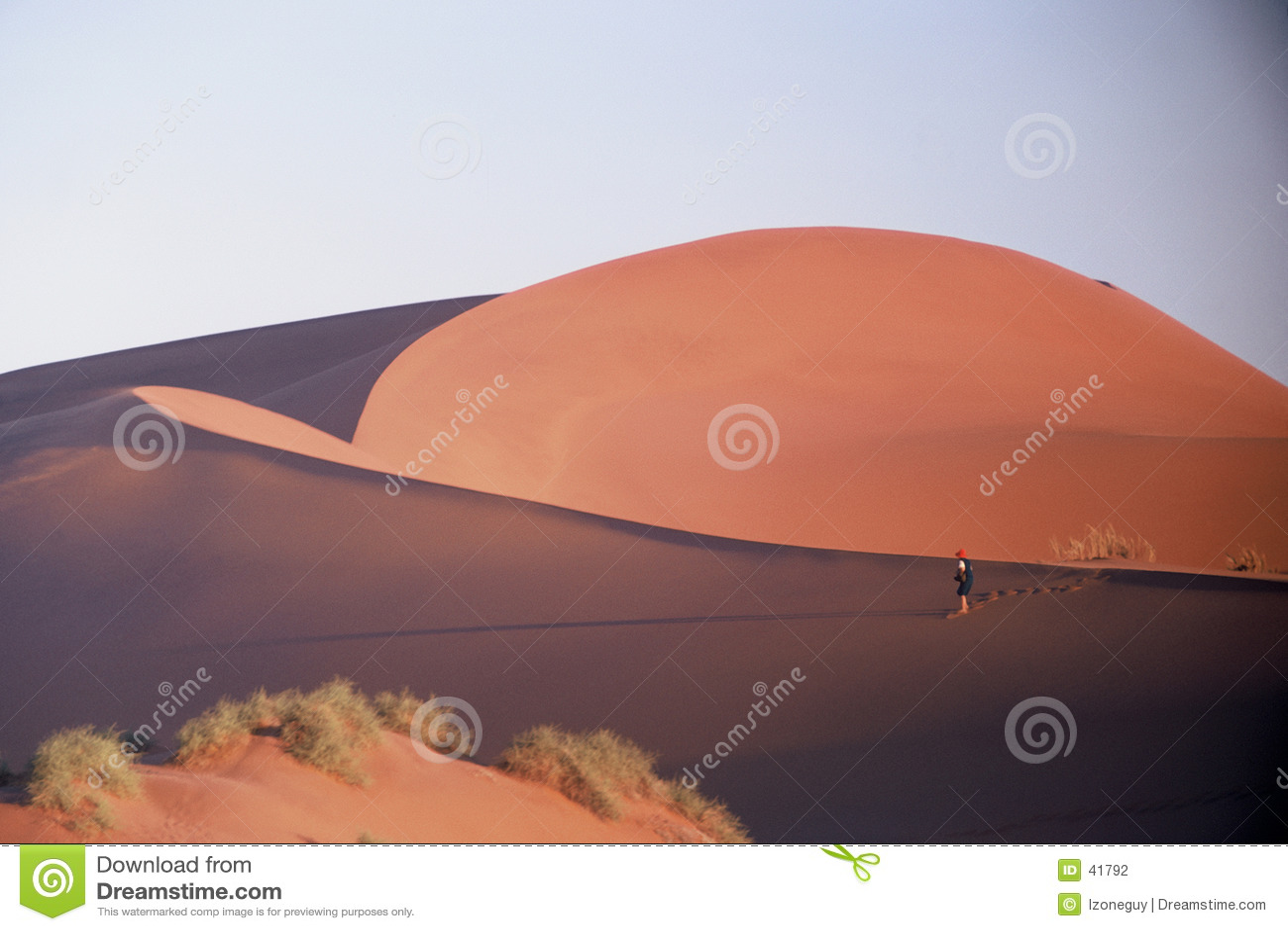 El recorrer en el desierto
