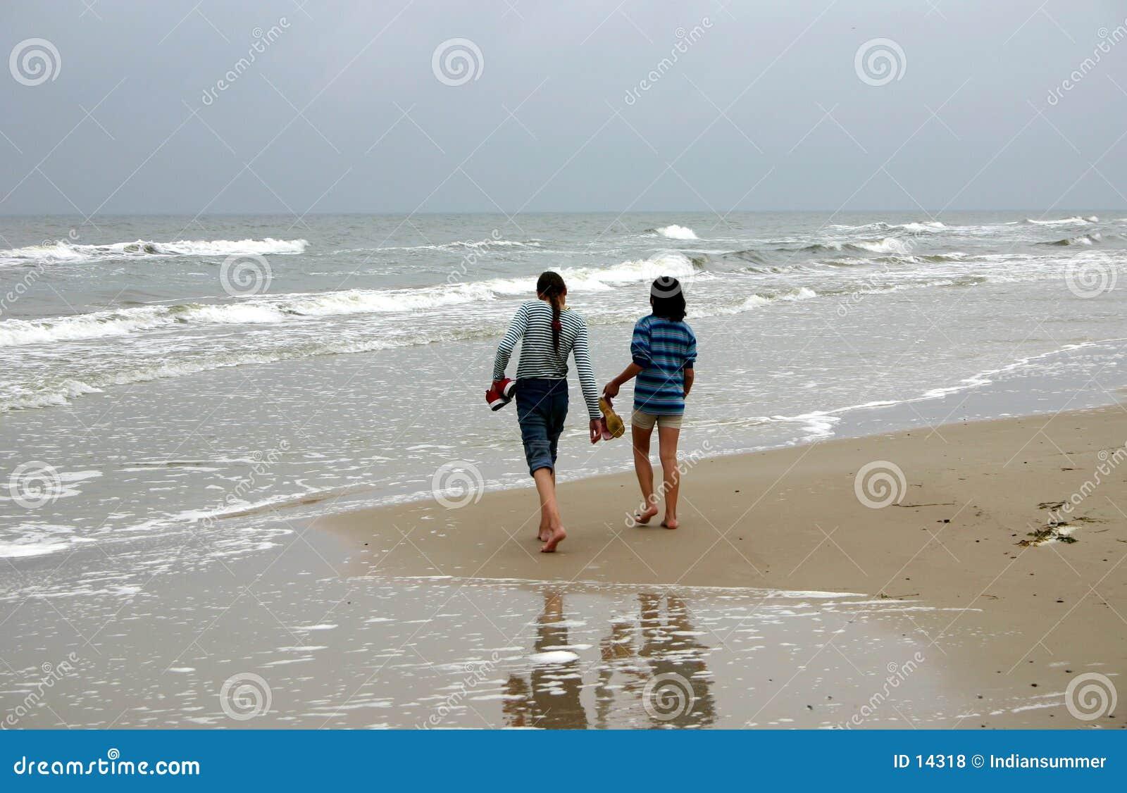 El recorrer por la costa