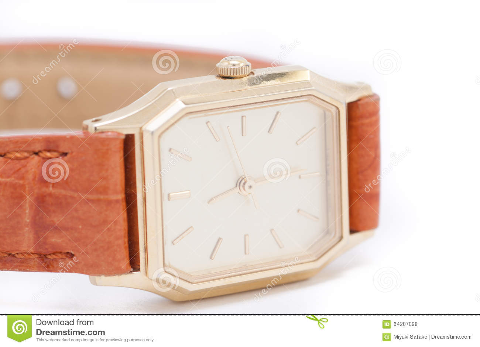 El reloj de oro de Ladys