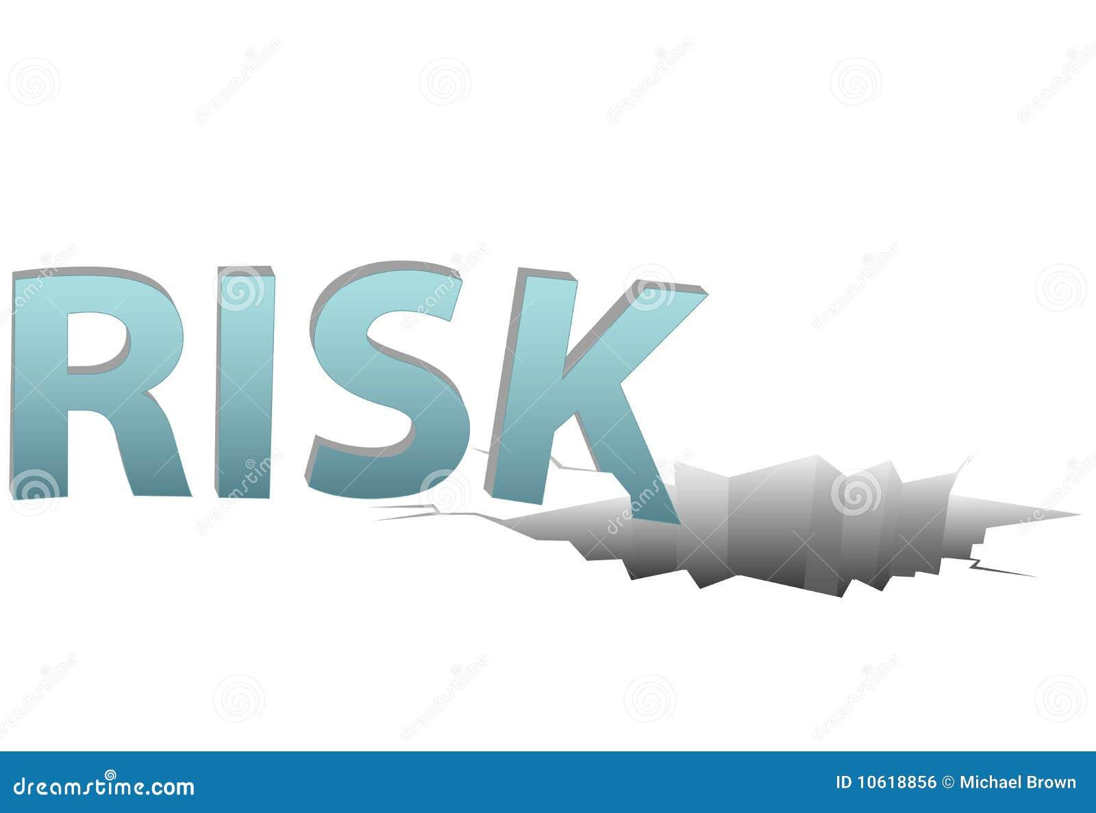 El RIESGO sin seguro baja en agujero financiero peligroso