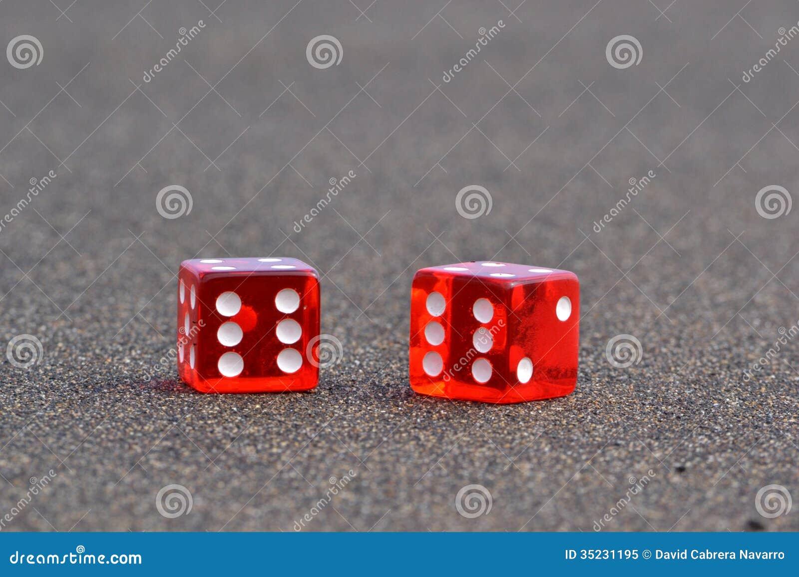 El rojo dos corta en cuadritos