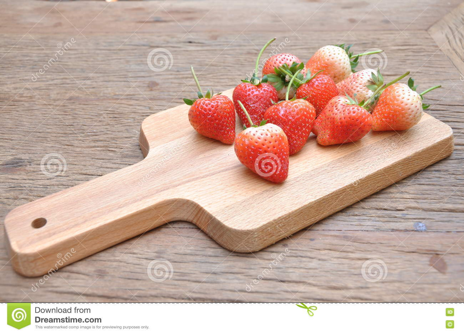 El rojo strawburry