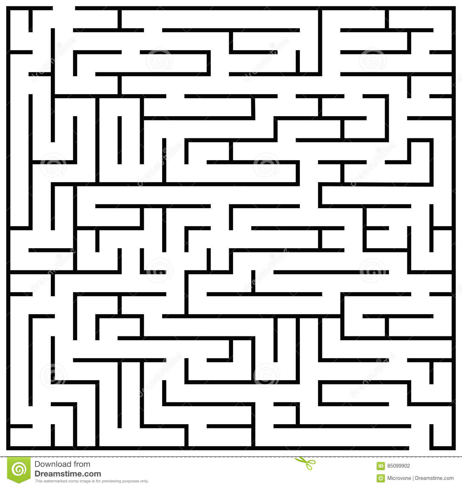 El rompecabezas del laberinto, enigma del laberinto embroma el ejemplo del vector del juego