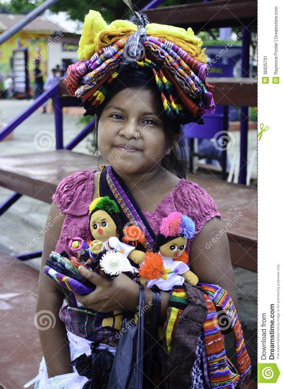 Download El Salvador native girl editorial photo. Image of indian - 36925731
