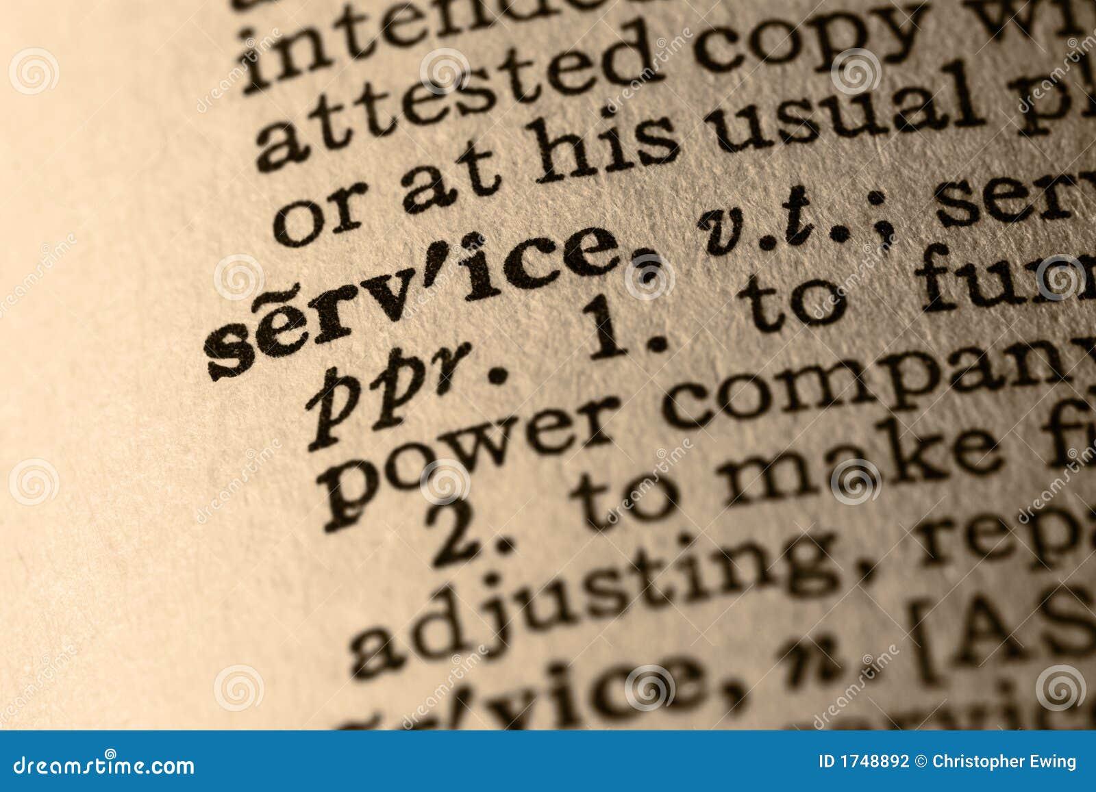 El servicio de la palabra