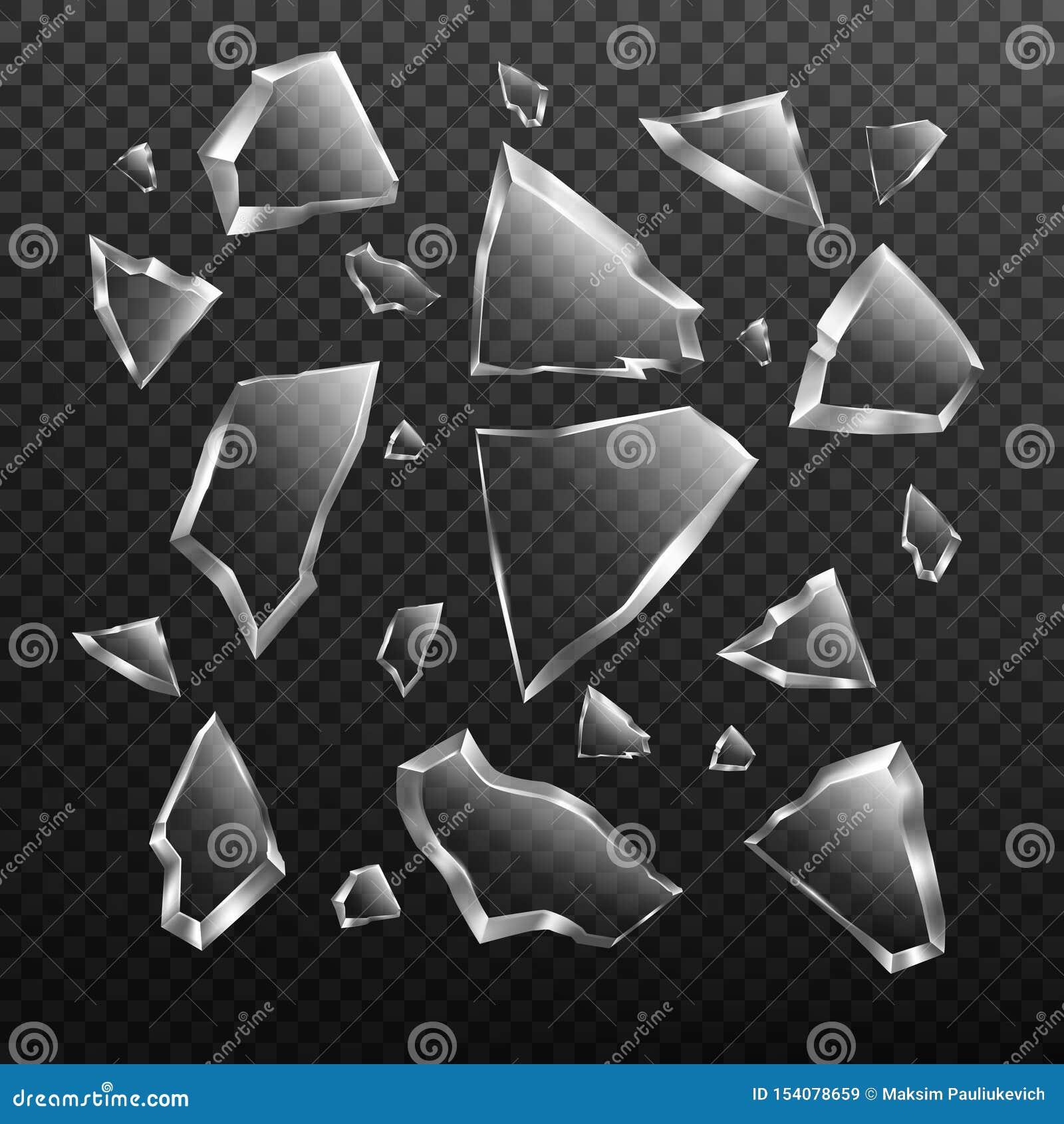 El sistema de cristal roto de los cascos, estrelló fragmentos de la ventana