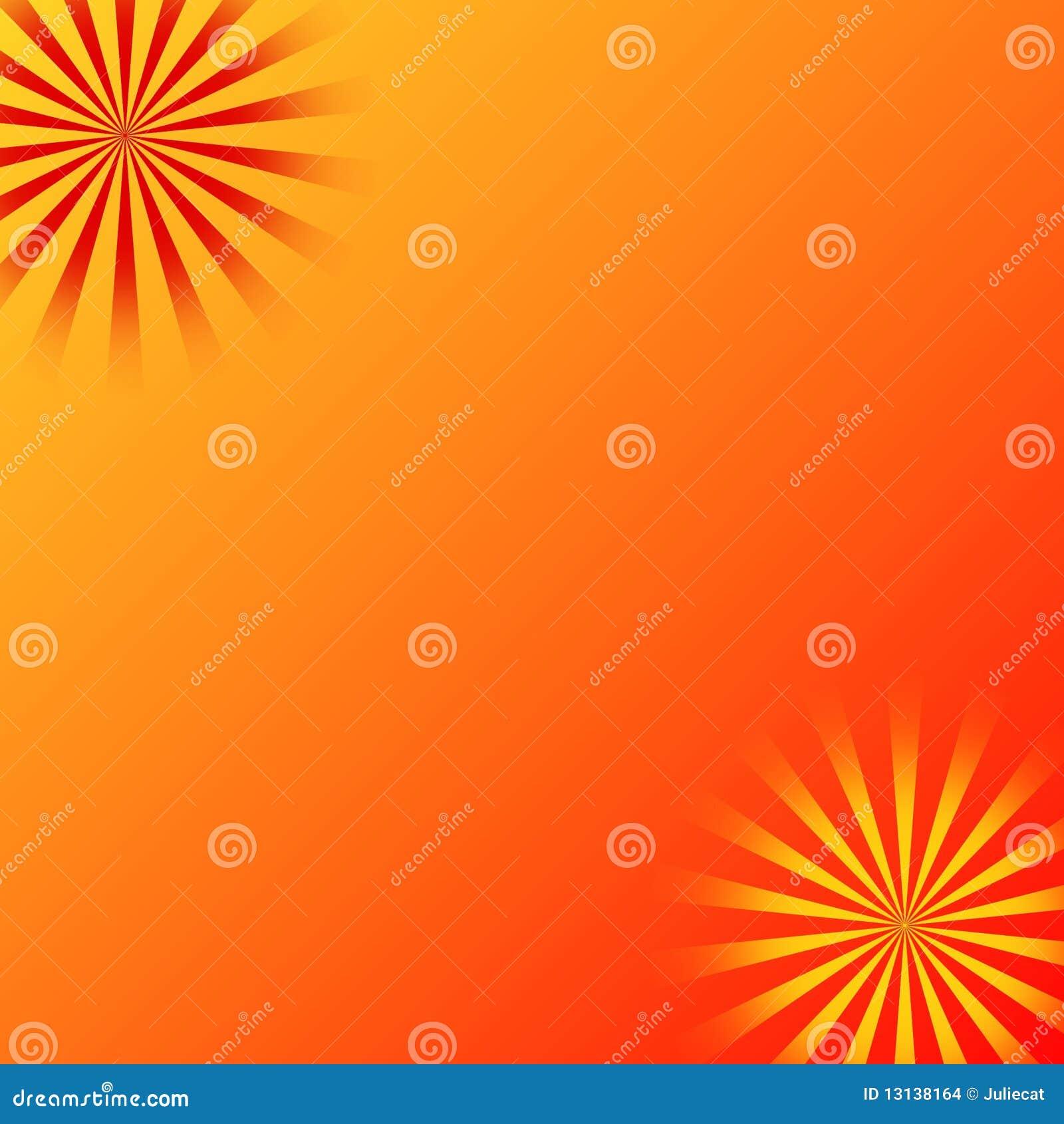 El sol del amarillo anaranjado irradia el fondo imagenes for Fondo del sol