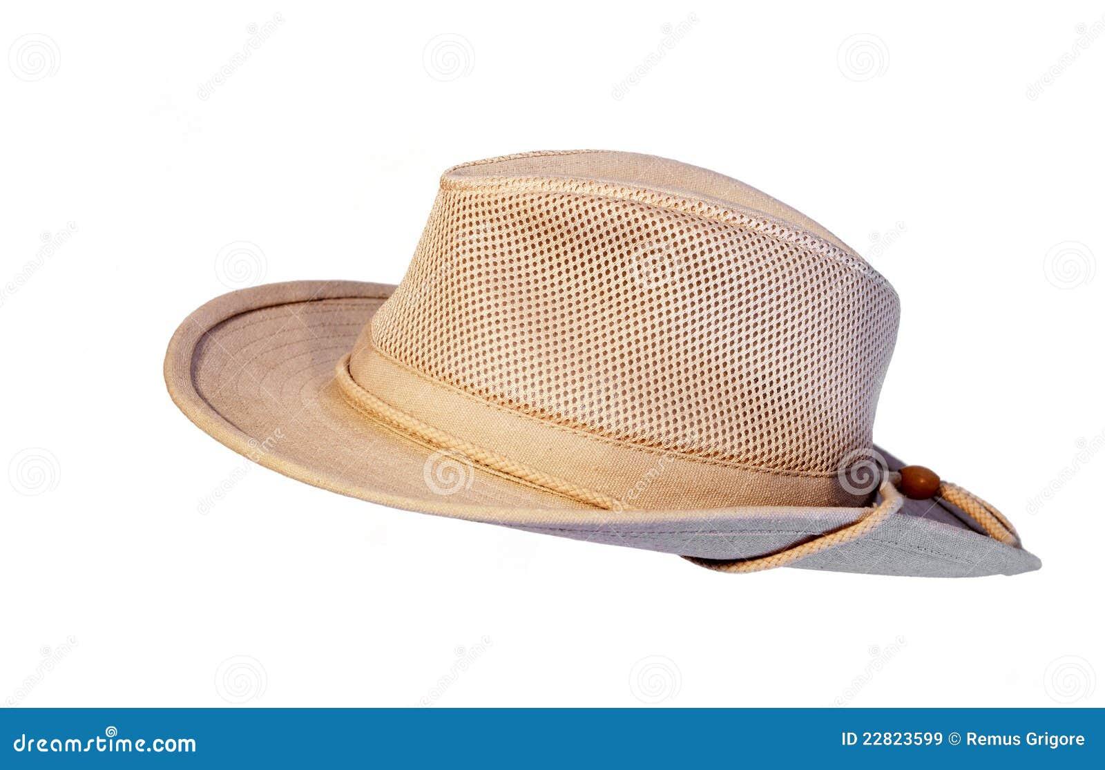 El sombrero del verano de Sun aisló