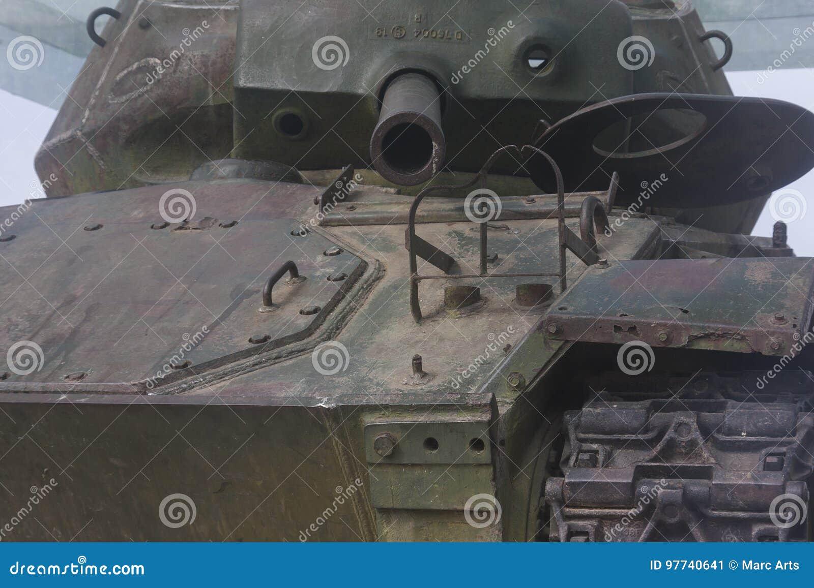 El tanque de batalla