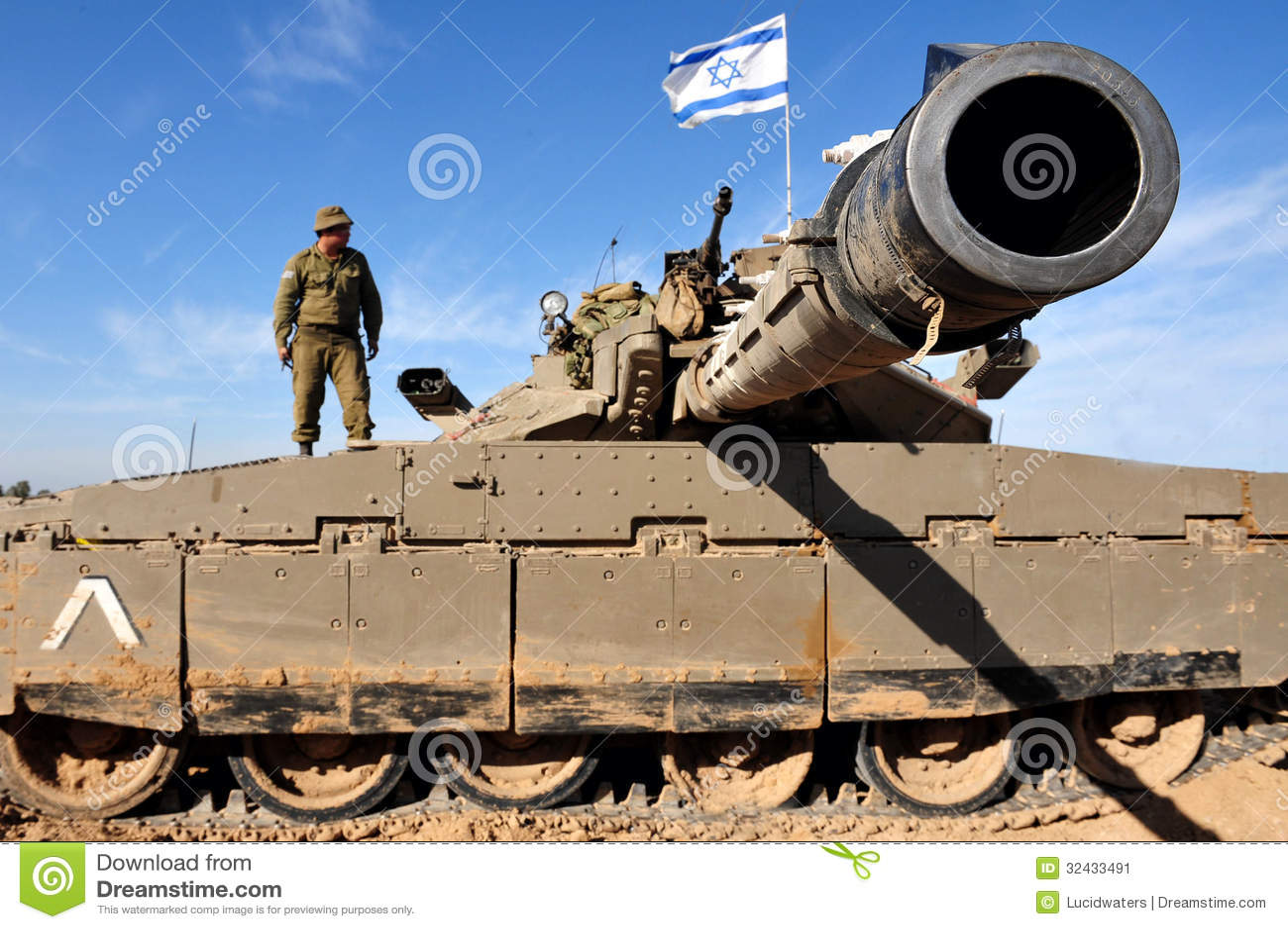 El tanque de Merkava