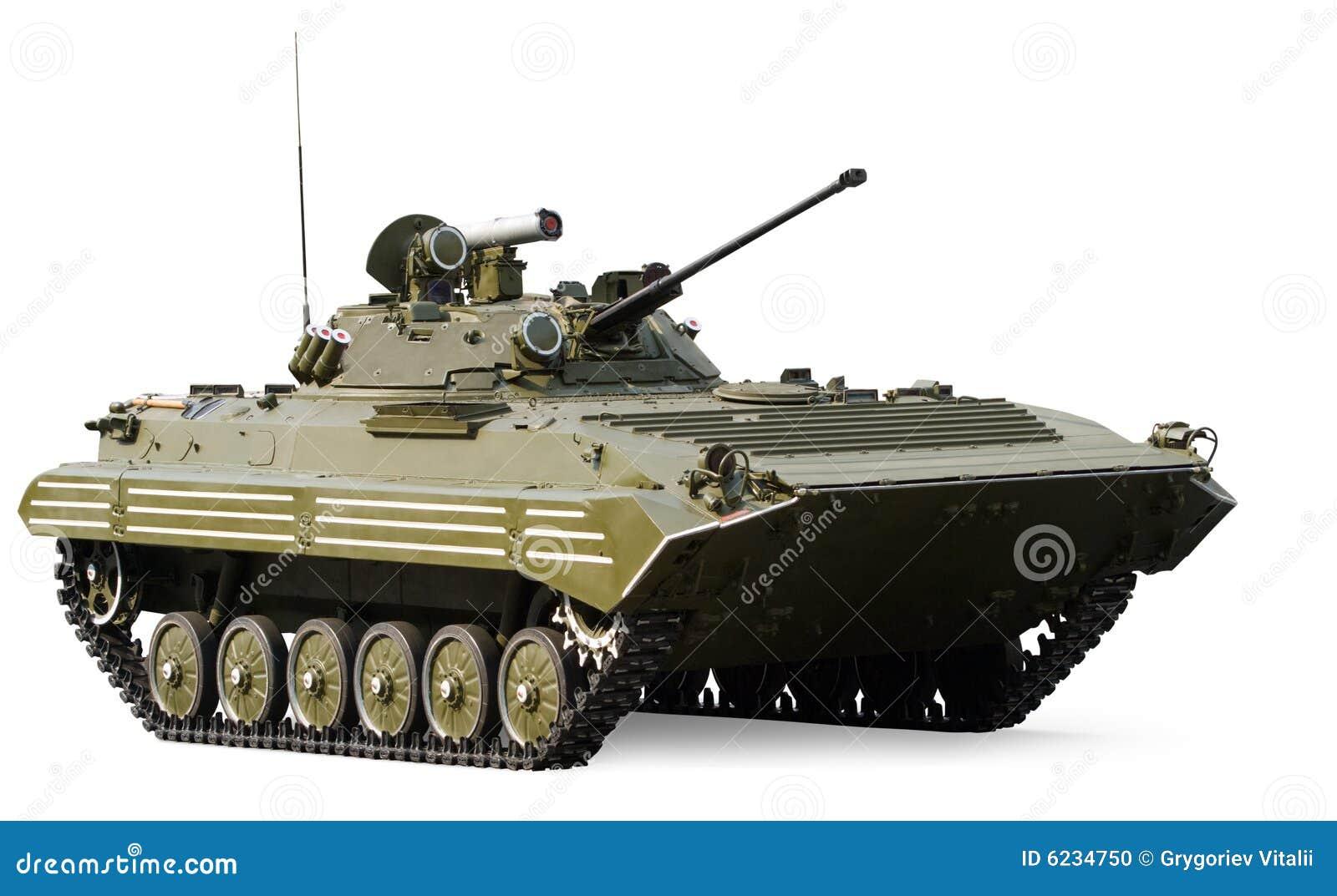El tanque ligero de la infantería rusa